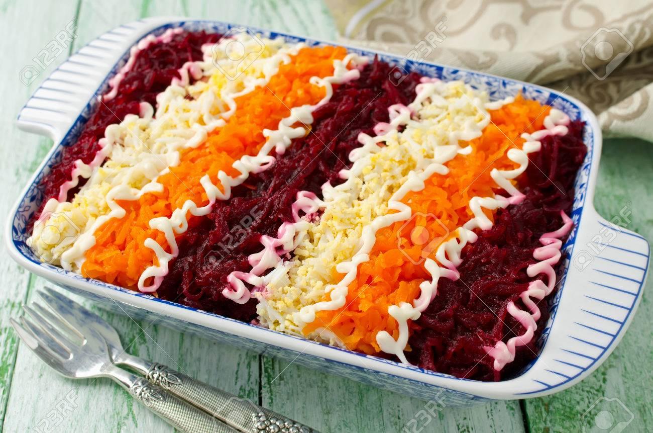 How to make a salad under a fur coat