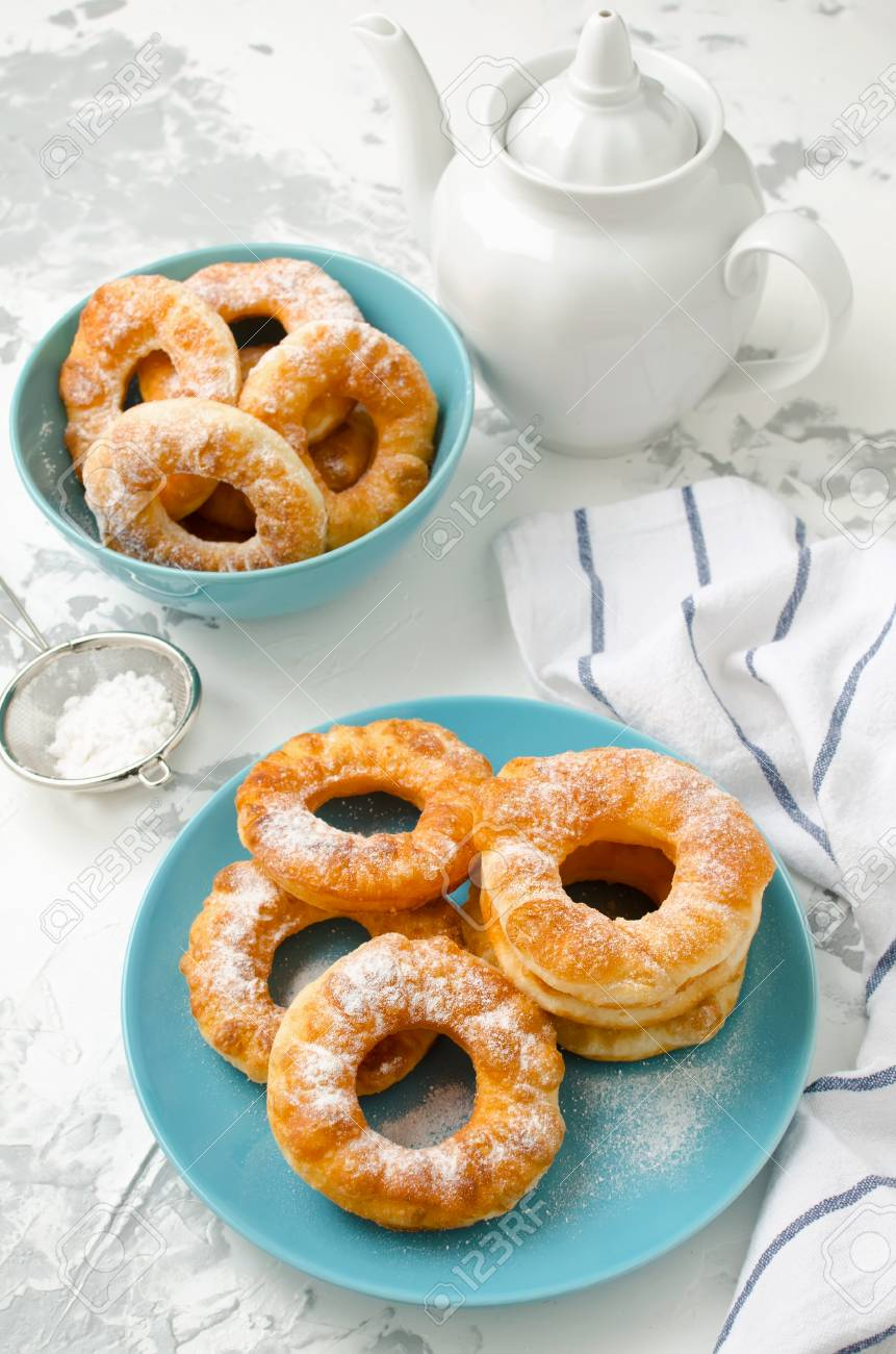 Cottage cheese donuts are a great dessert for breakfast 82