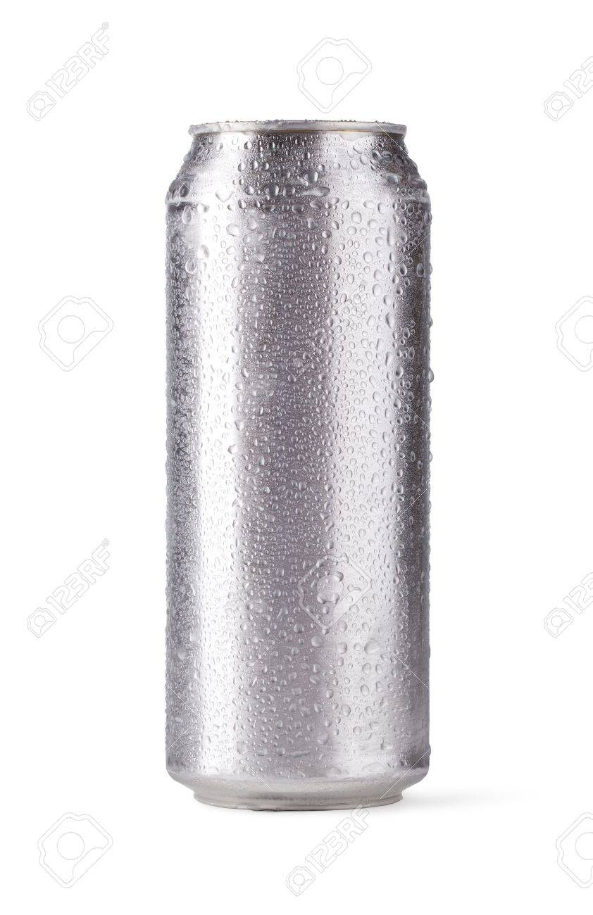 beer can isolated on white background Stock Photo - 15047401