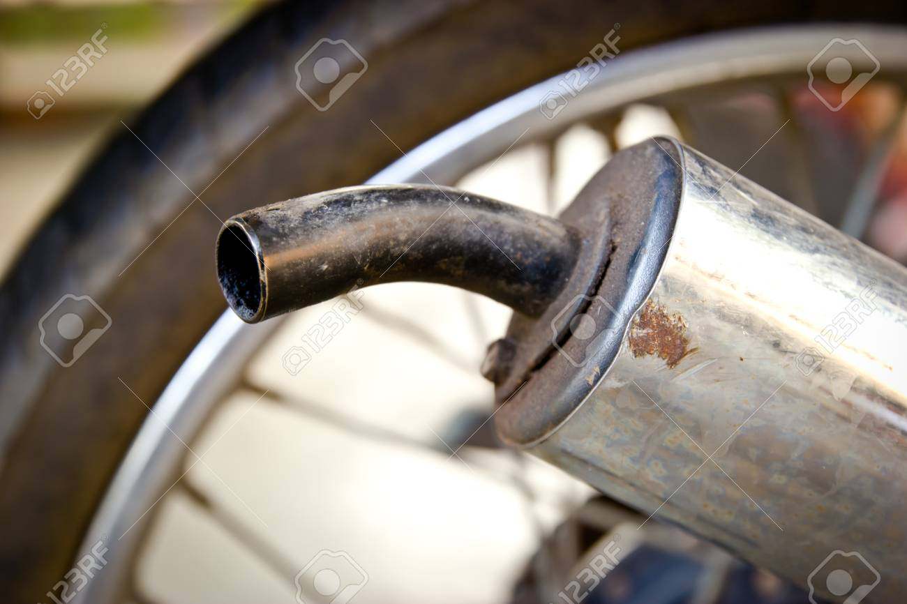 Old Motorcycle 2 Stroke Exhaust Stock Photo Picture And Royalty Free Image Image 36183313