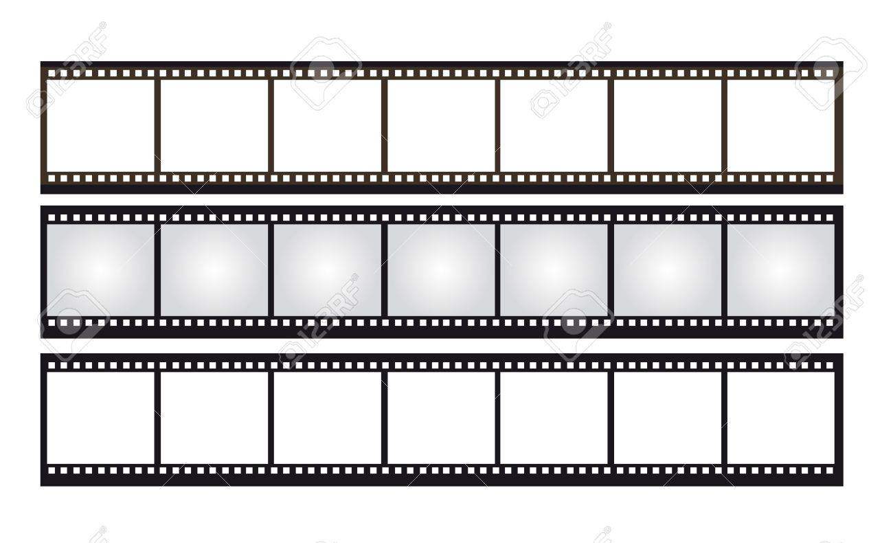 black,brown,gray,white negative photo isolated over white background. vector Stock Vector - 10253130