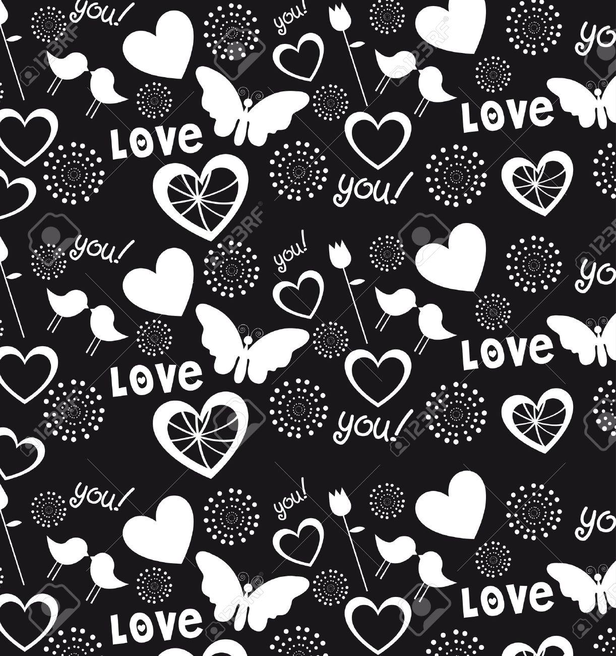 Fondo De Los Corazones El Amor Y Los Corazones La Ilustración En