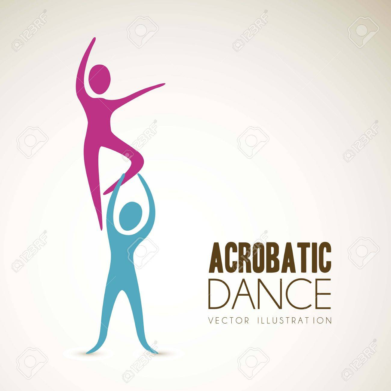 Illustration of couples dance positions, vector illustration Stock Vector - 15084137