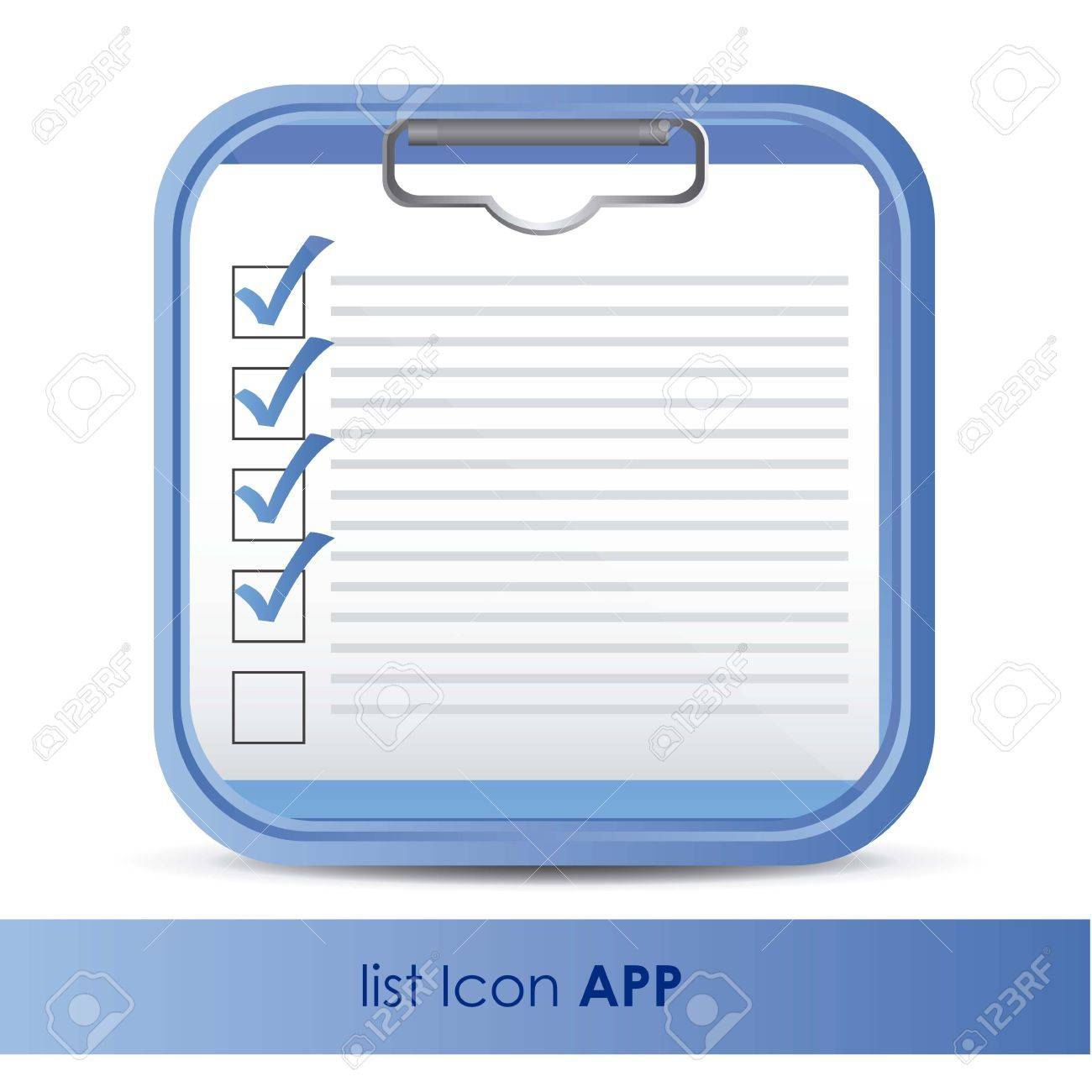 illustration of icon for application of questions or data, vector illustration - 15563850