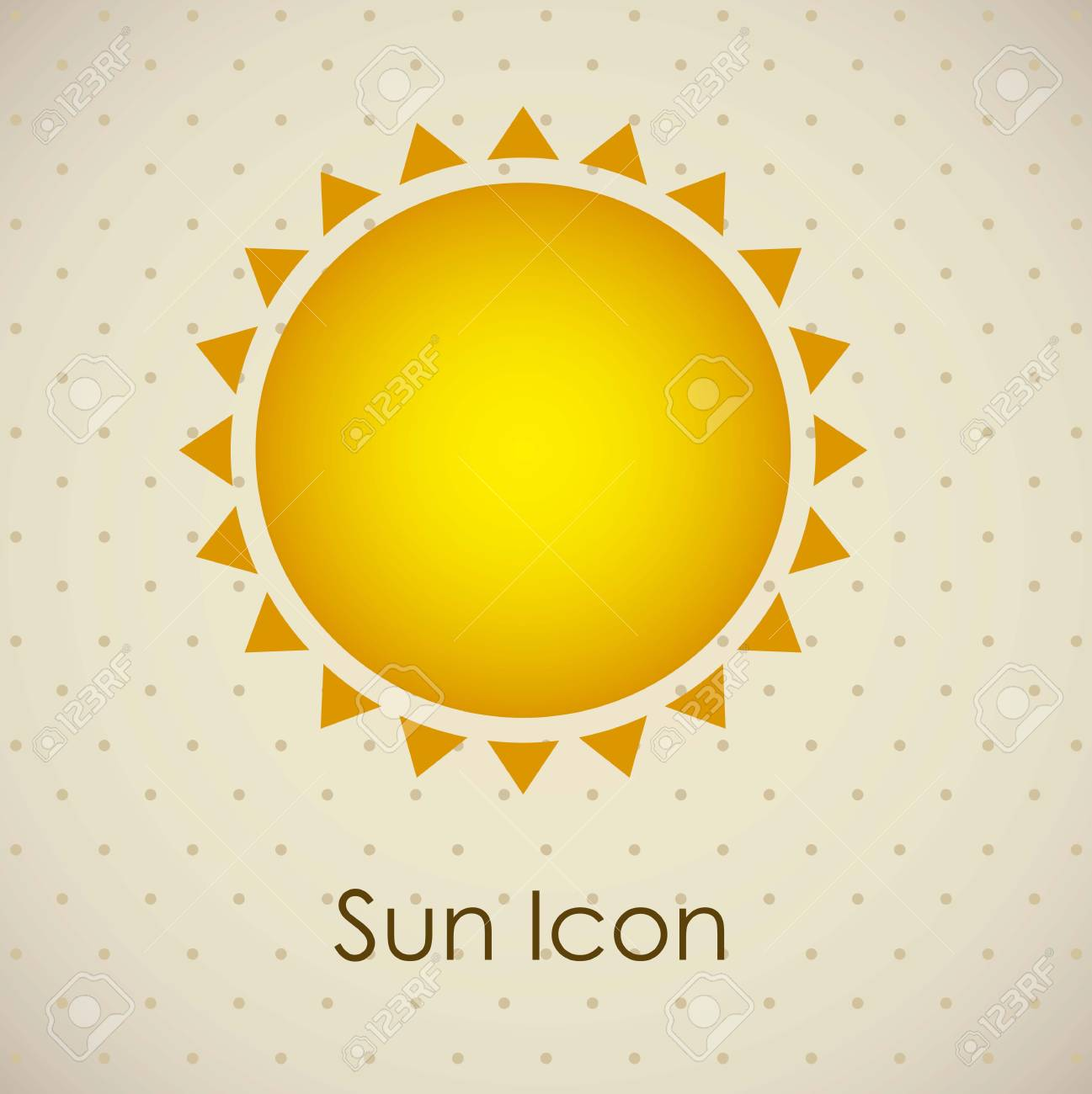 Illustration of icons sun icons of weather and seasons, vector illustration Stock Vector - 16818937