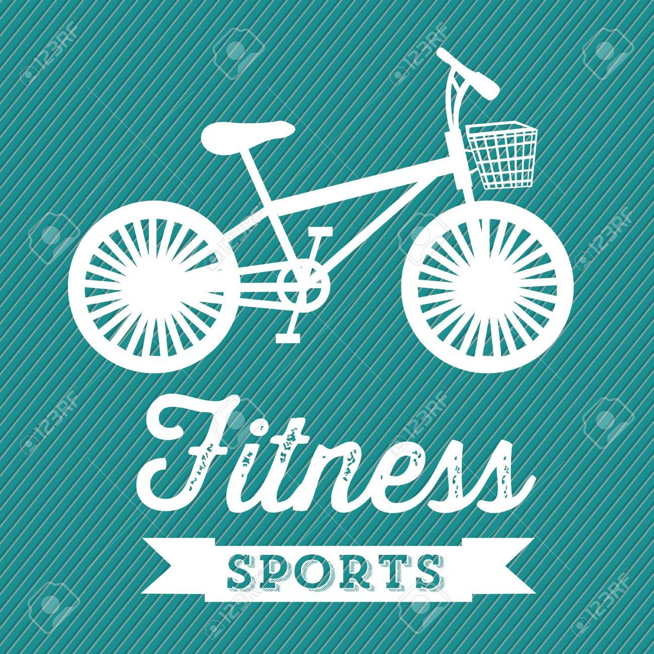 Illustration of Fitness Icons, sports and exercise, caring figure and health, vector illustration Stock Vector - 17787110