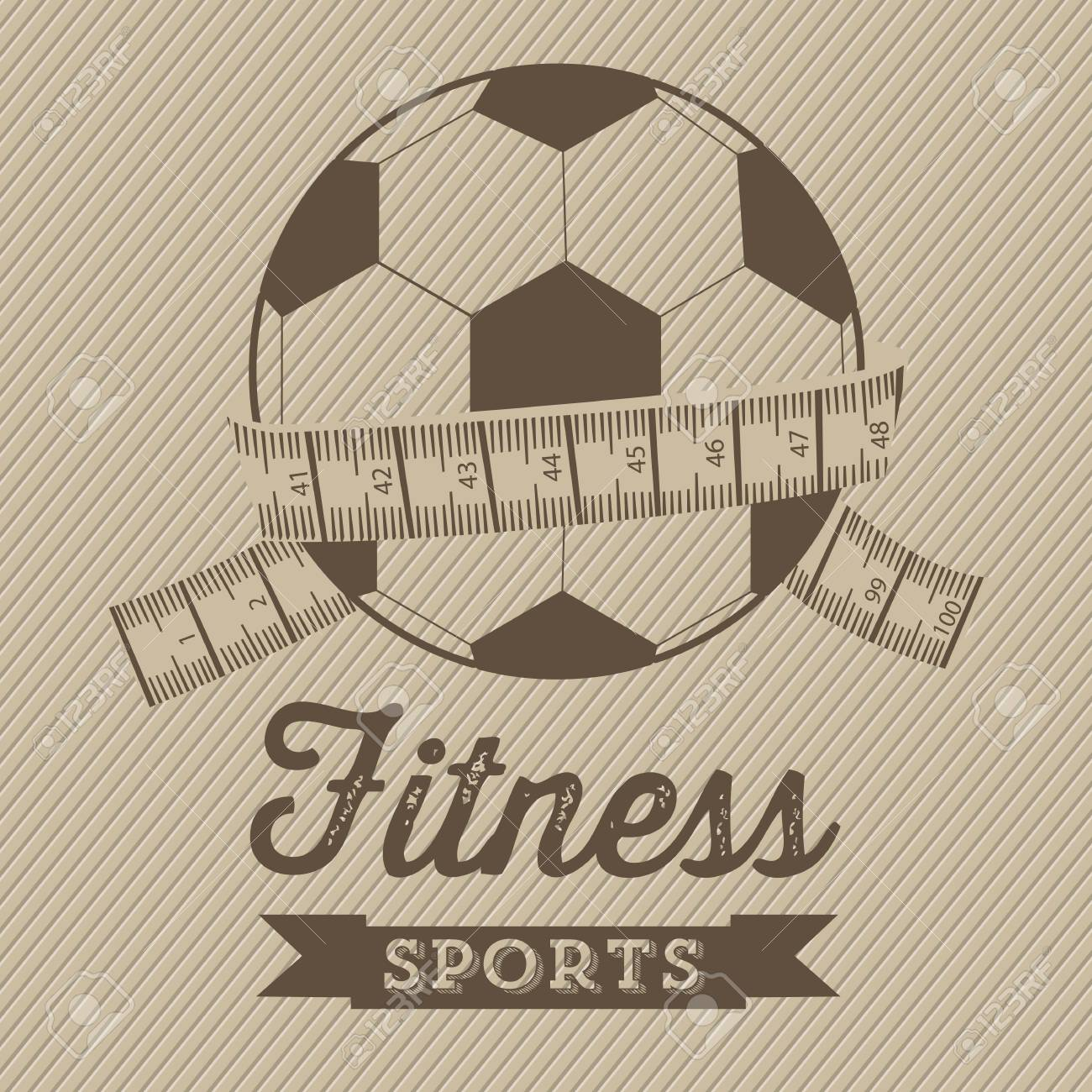 Illustration of Fitness Icons, sports and exercise, caring figure and health, vector illustration Stock Vector - 17787106