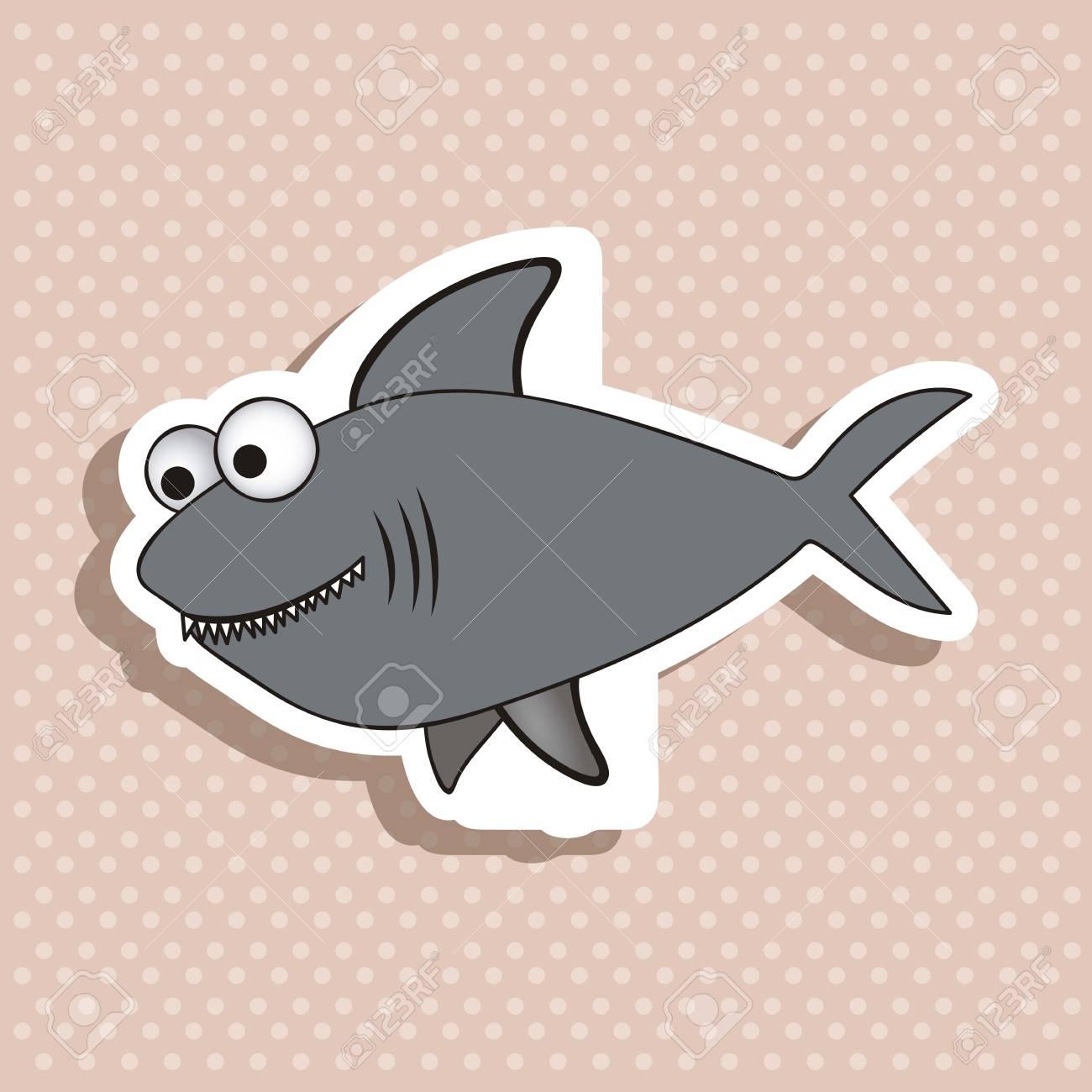 illustration of icons of fish, aquatic animals Stock Vector - 18759890