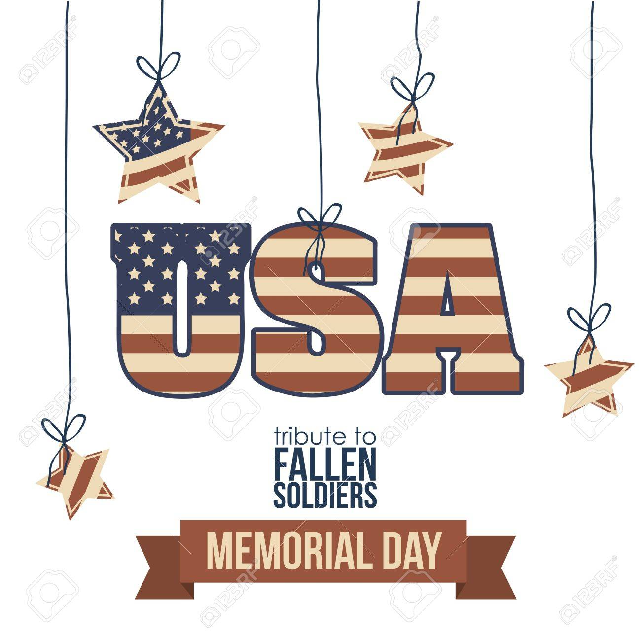 Illustration Patriotic United States of America, USA, vector illustration Stock Vector - 19050448