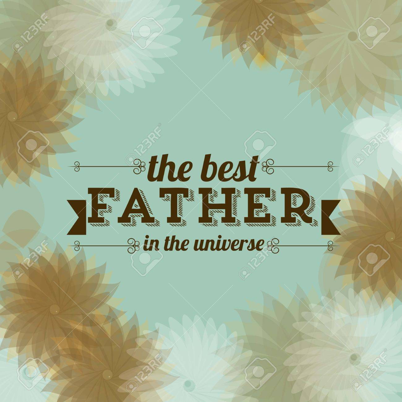 Illustration for dad, happy father's day, vector illustration Stock Vector - 19462042