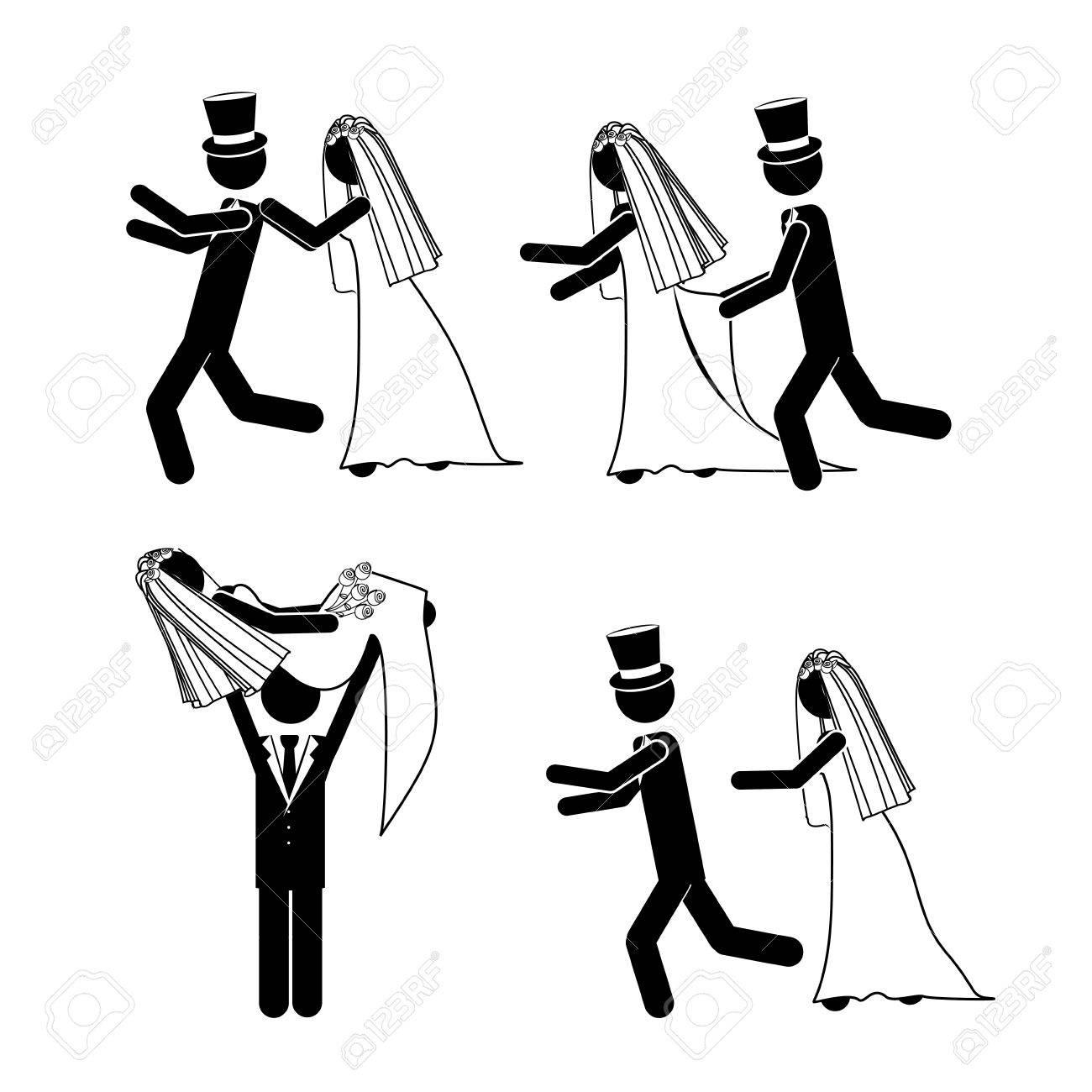 wedding design over white background vector illustration Stock Vector - 21522160