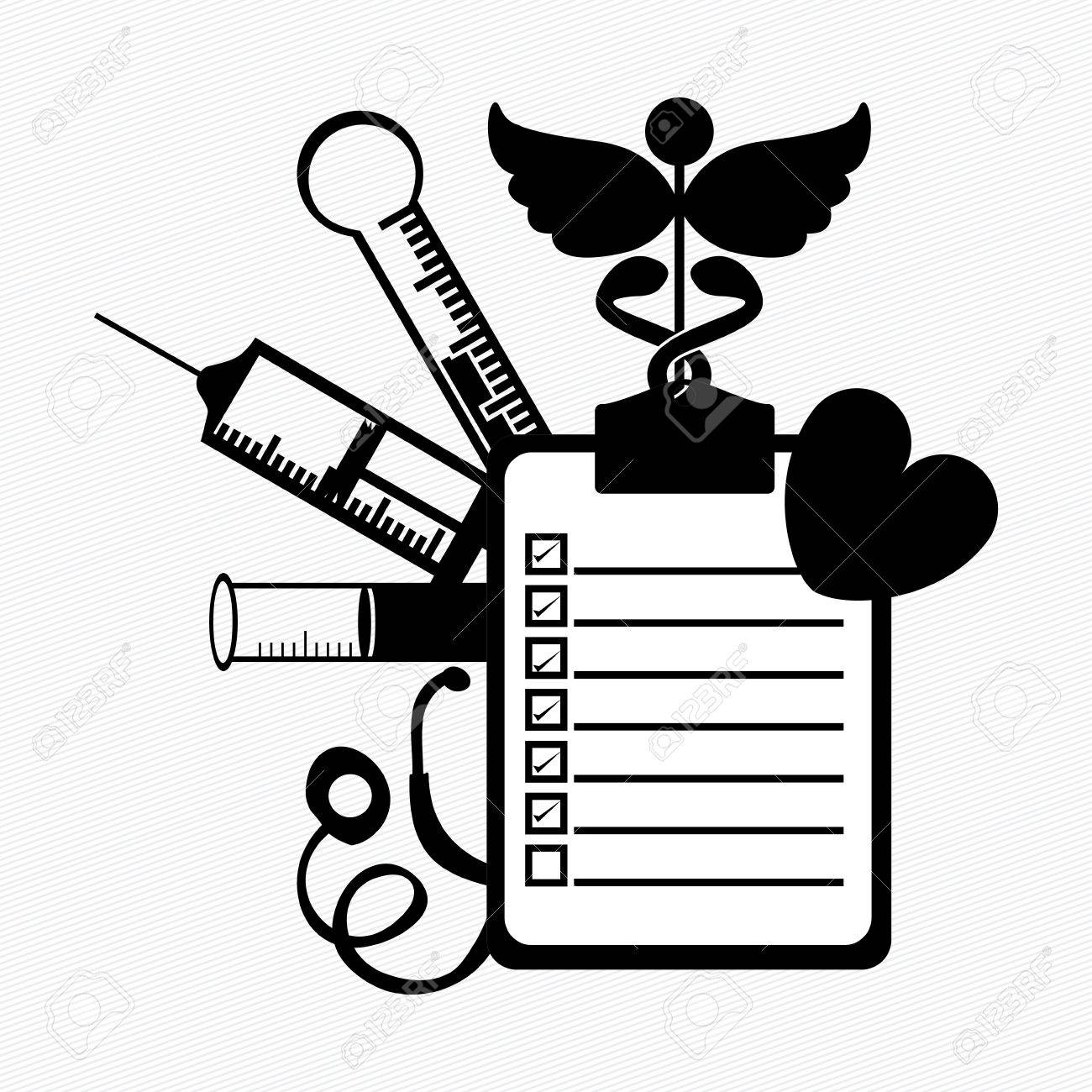 medical design over white background vector illustration Stock Vector - 21522767