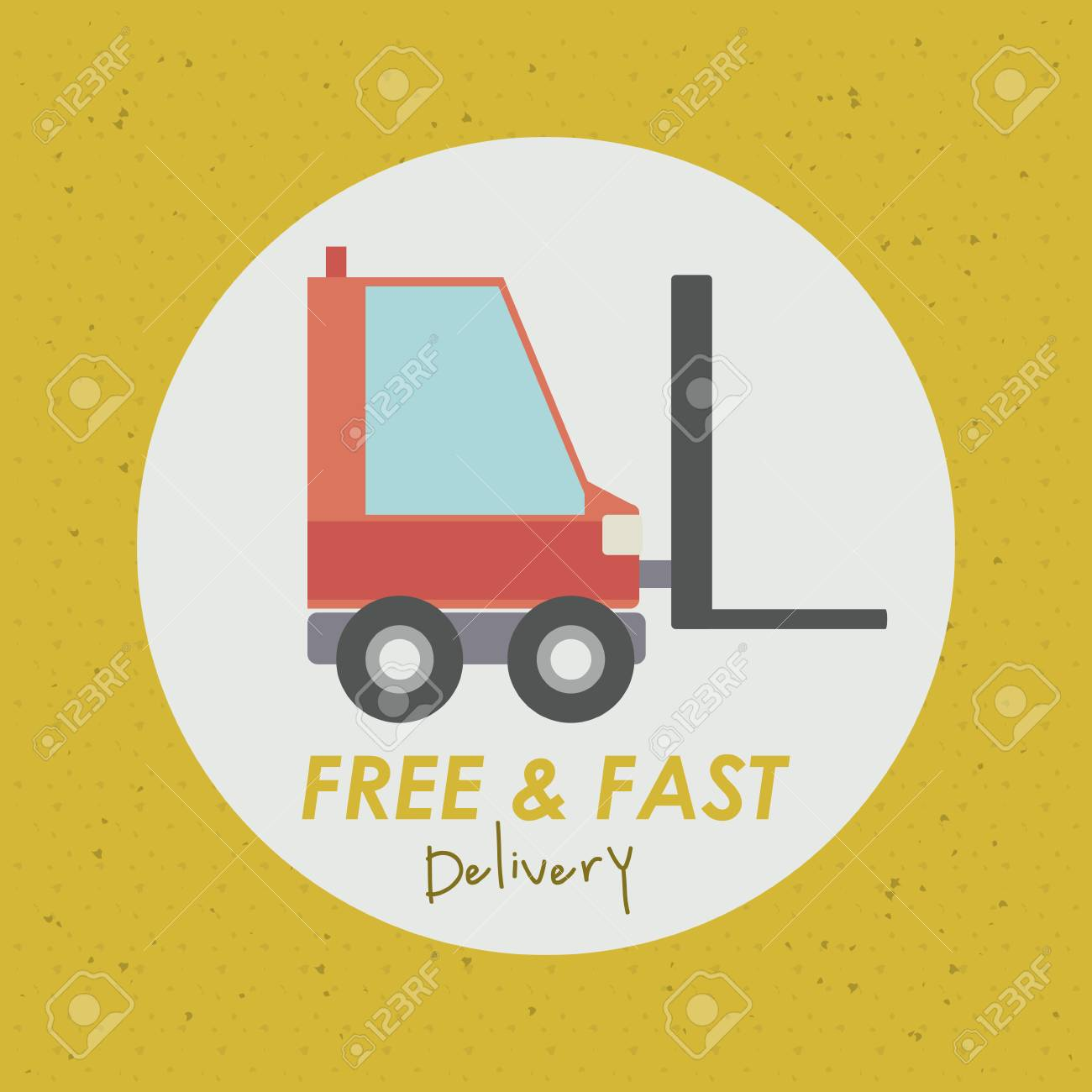 Delivery design over  background, vector illustration Stock Vector - 27175274