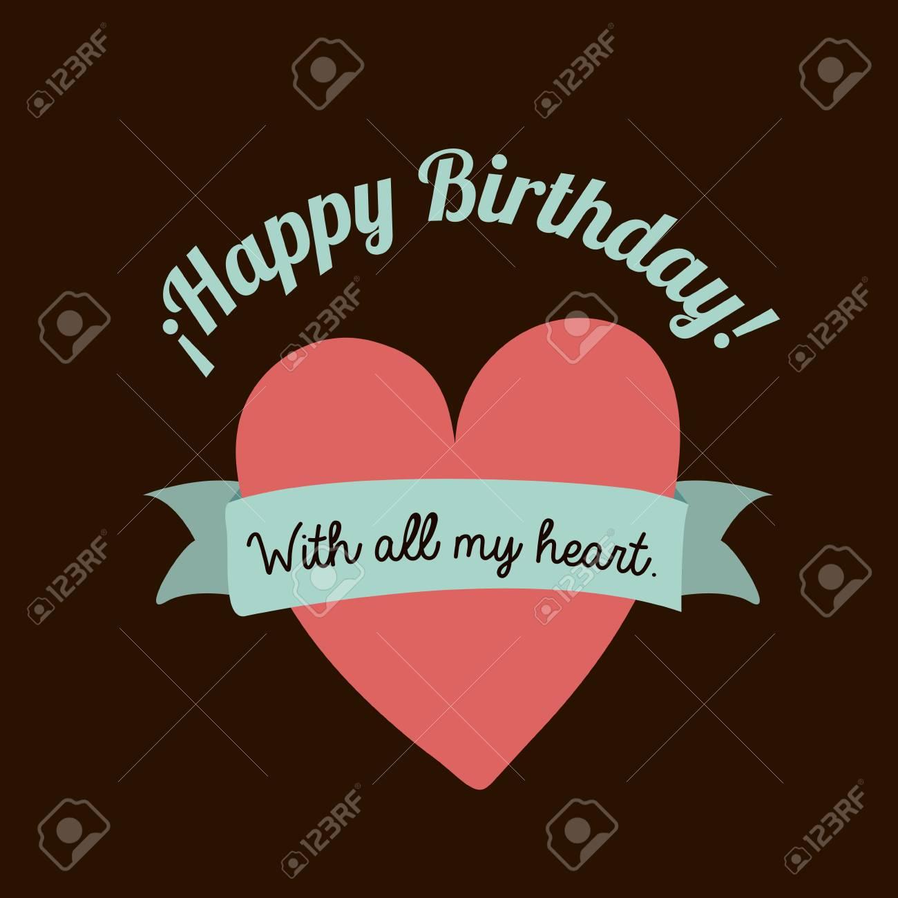 happy birthday  design Stock Vector - 27182104