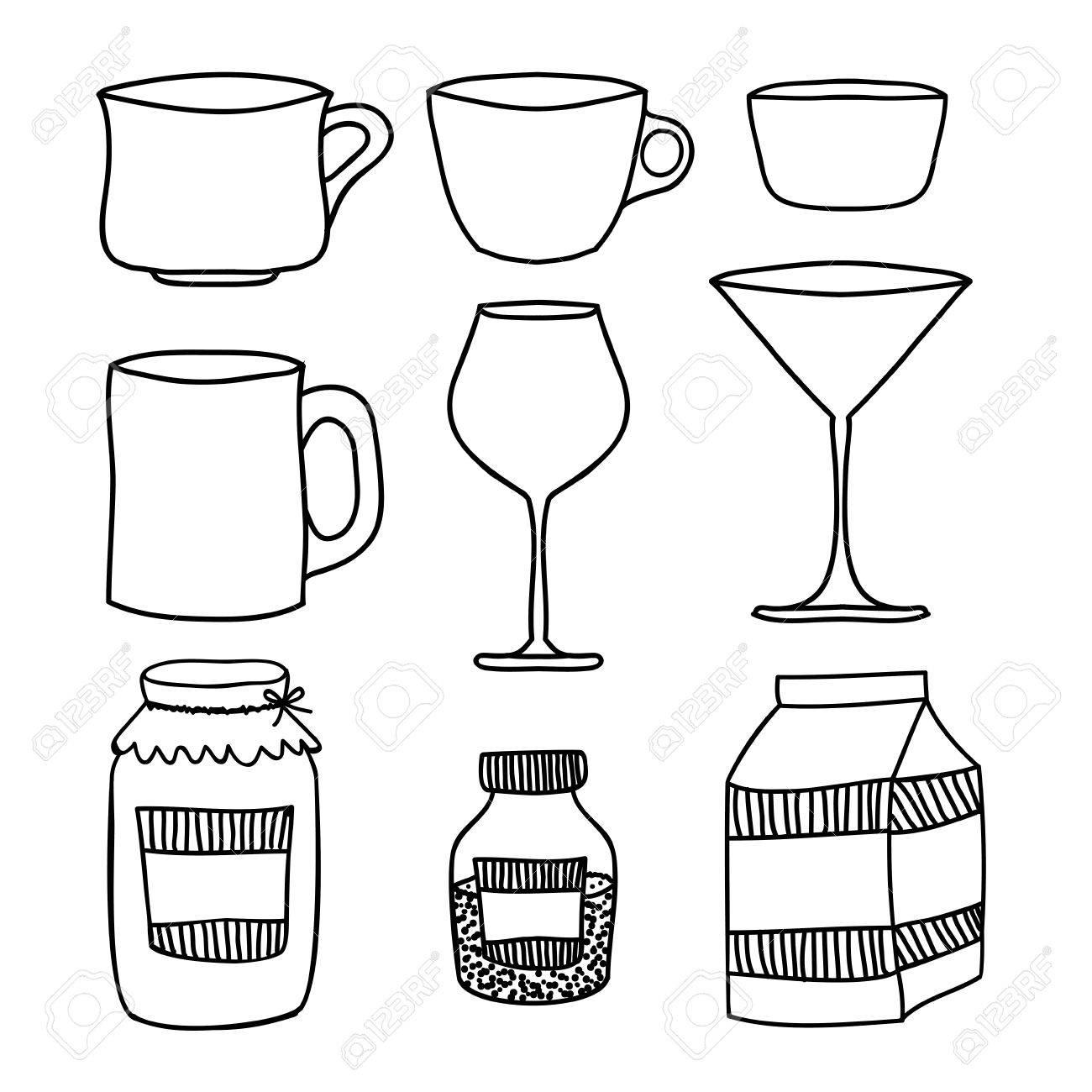 Kitchen Supplies Design Over White Background Vector Illustration