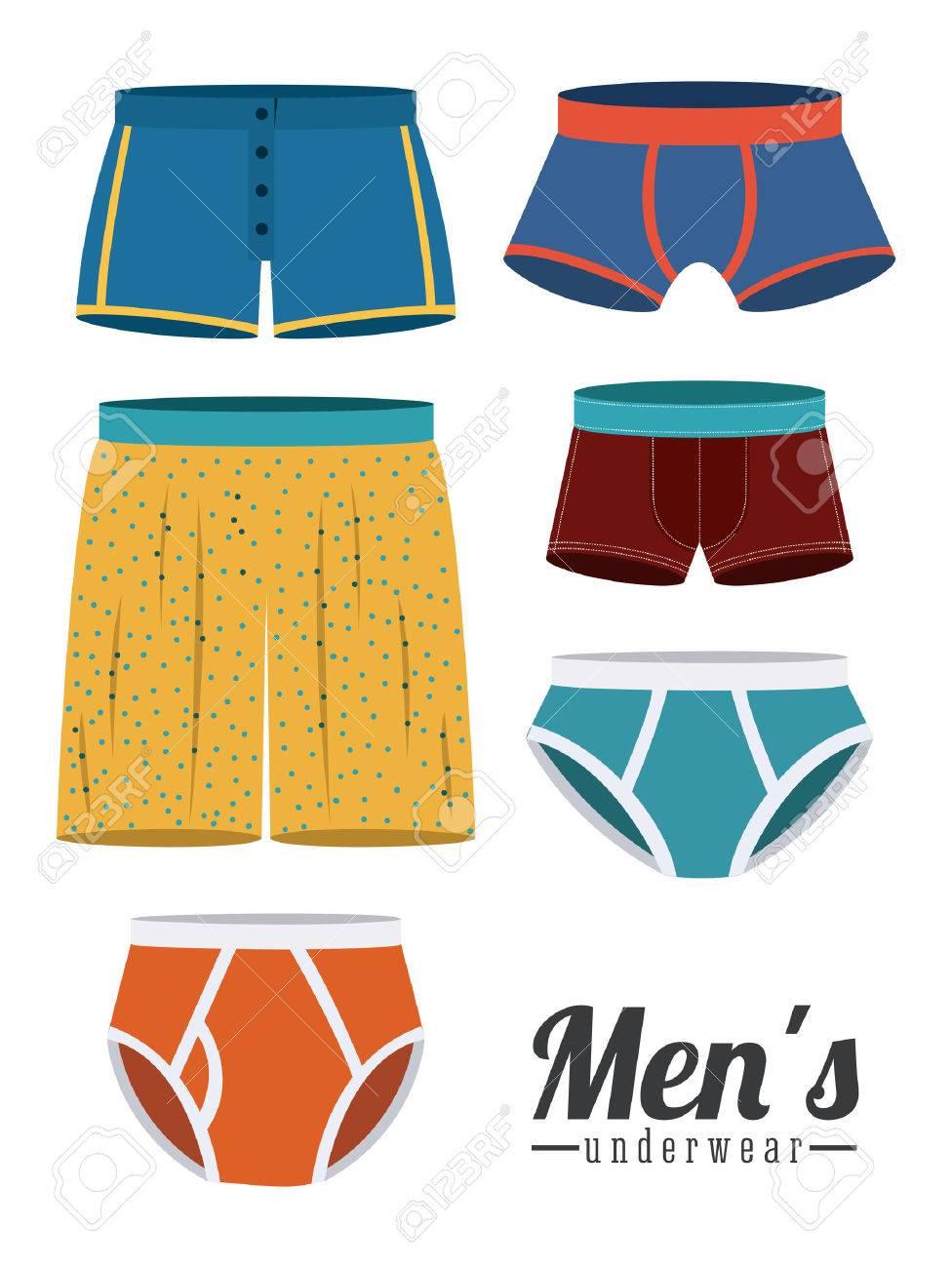 Underwear design over white background,vector illustration - 31836971