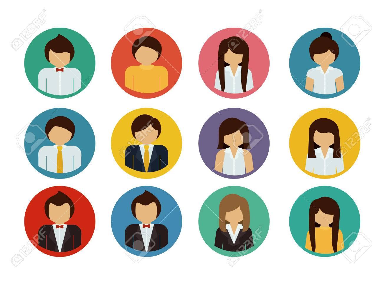 Human Resources design over white background, vector illustration - 40204055