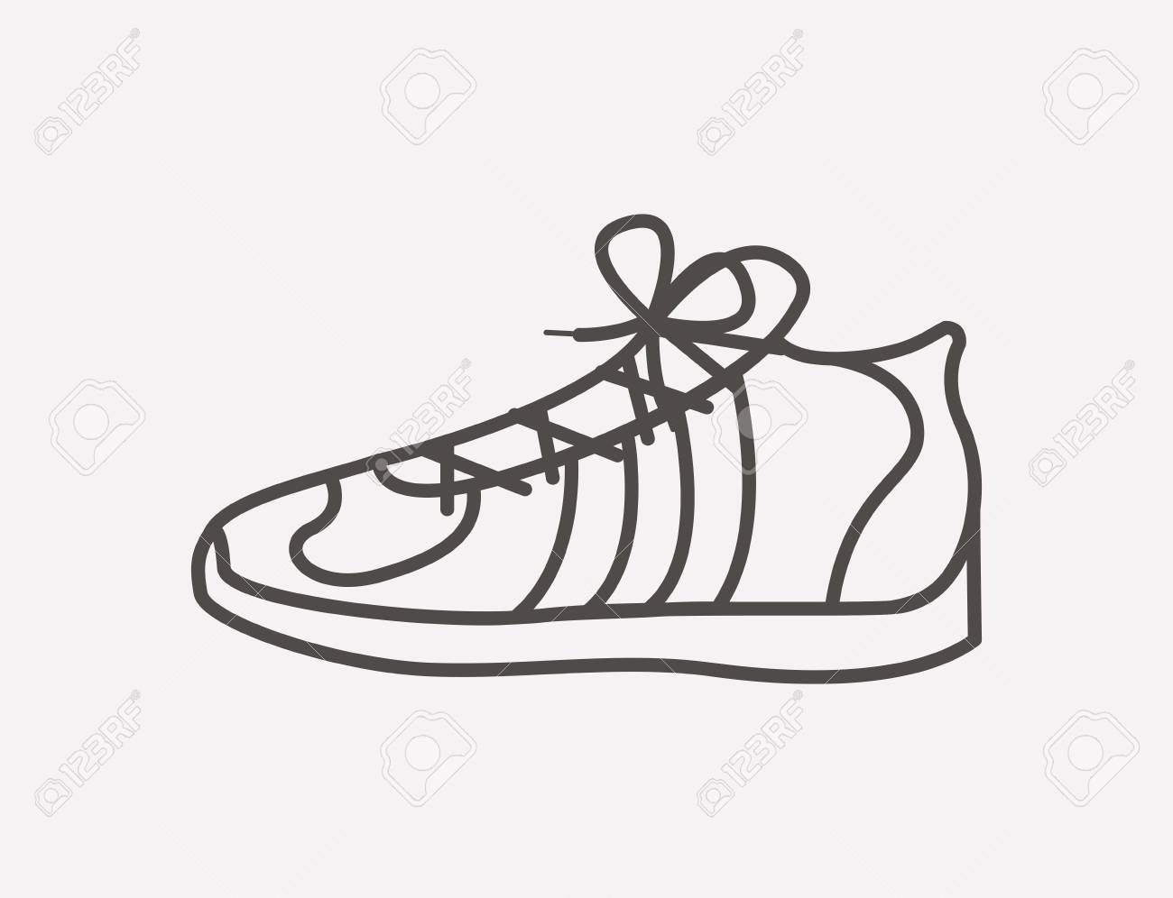 tennis shoes design, vector illustration eps10 graphic