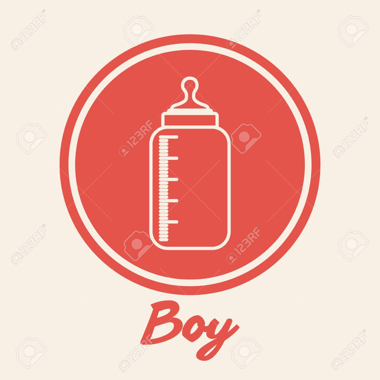 Baby Shower Invitation Design, Vector Illustration Eps10 Graphic ...