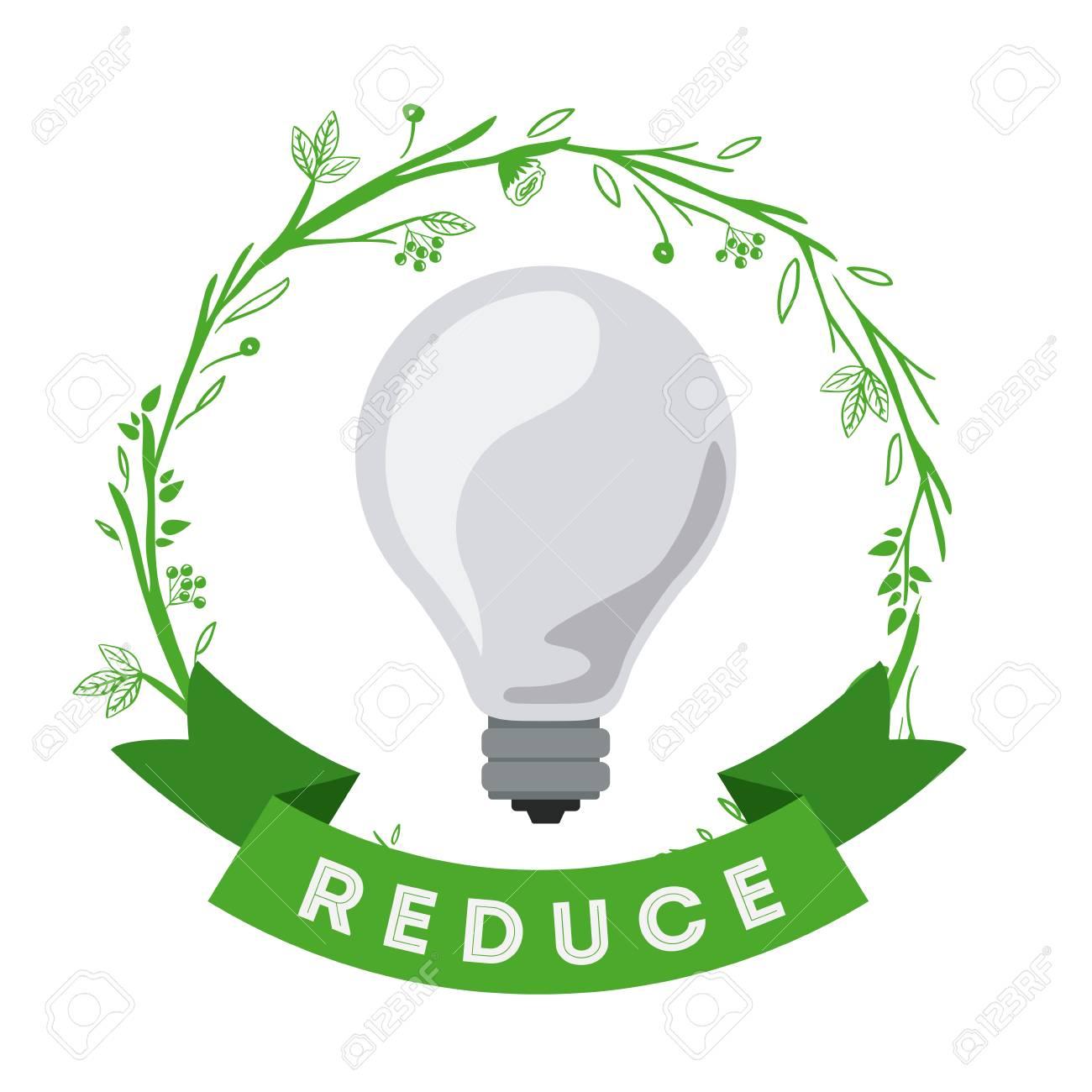 eco friendly ideas design, vector illustration eps10 graphic