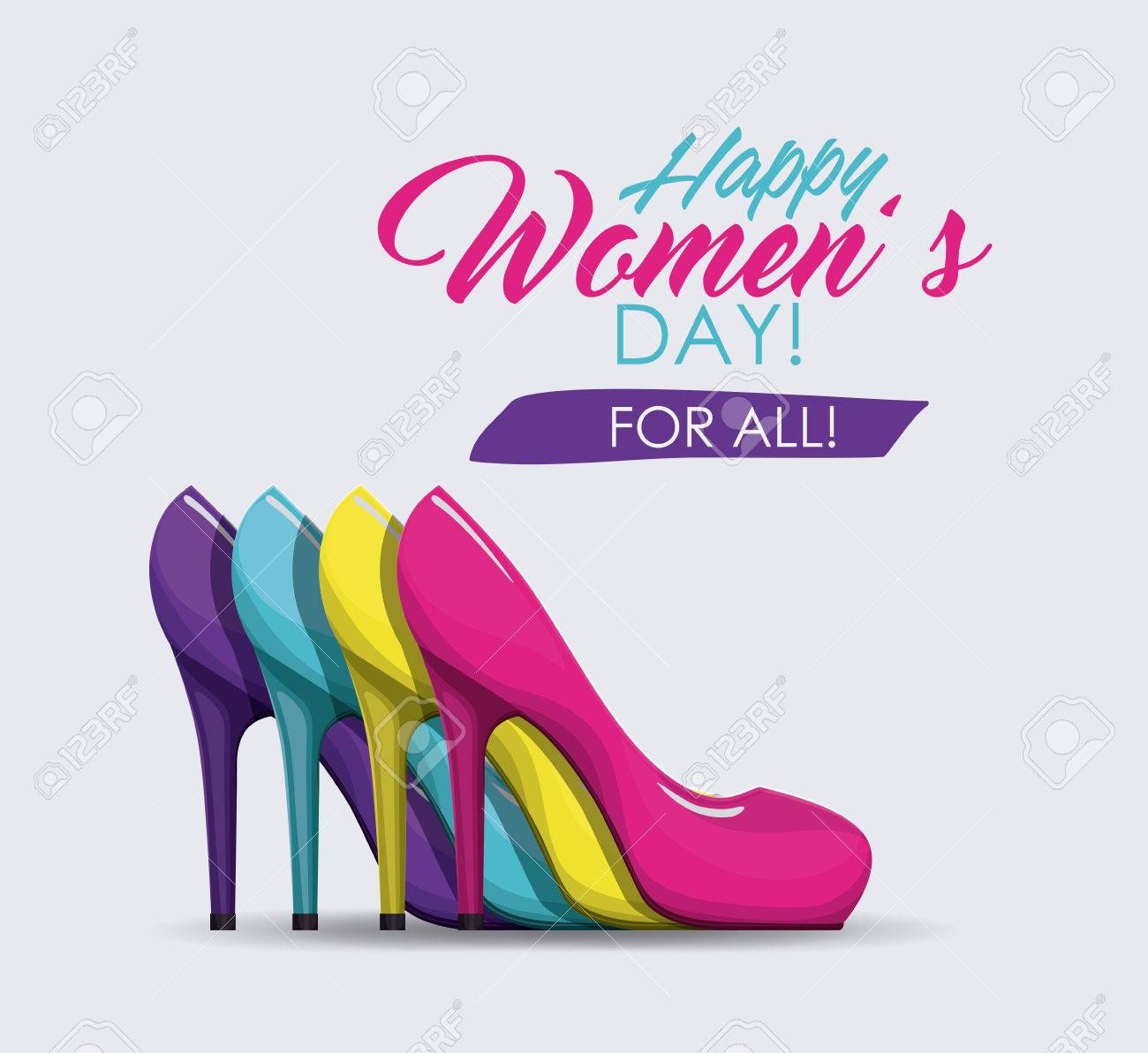 happy womens day design, vector illustration eps10 graphic - 52894547