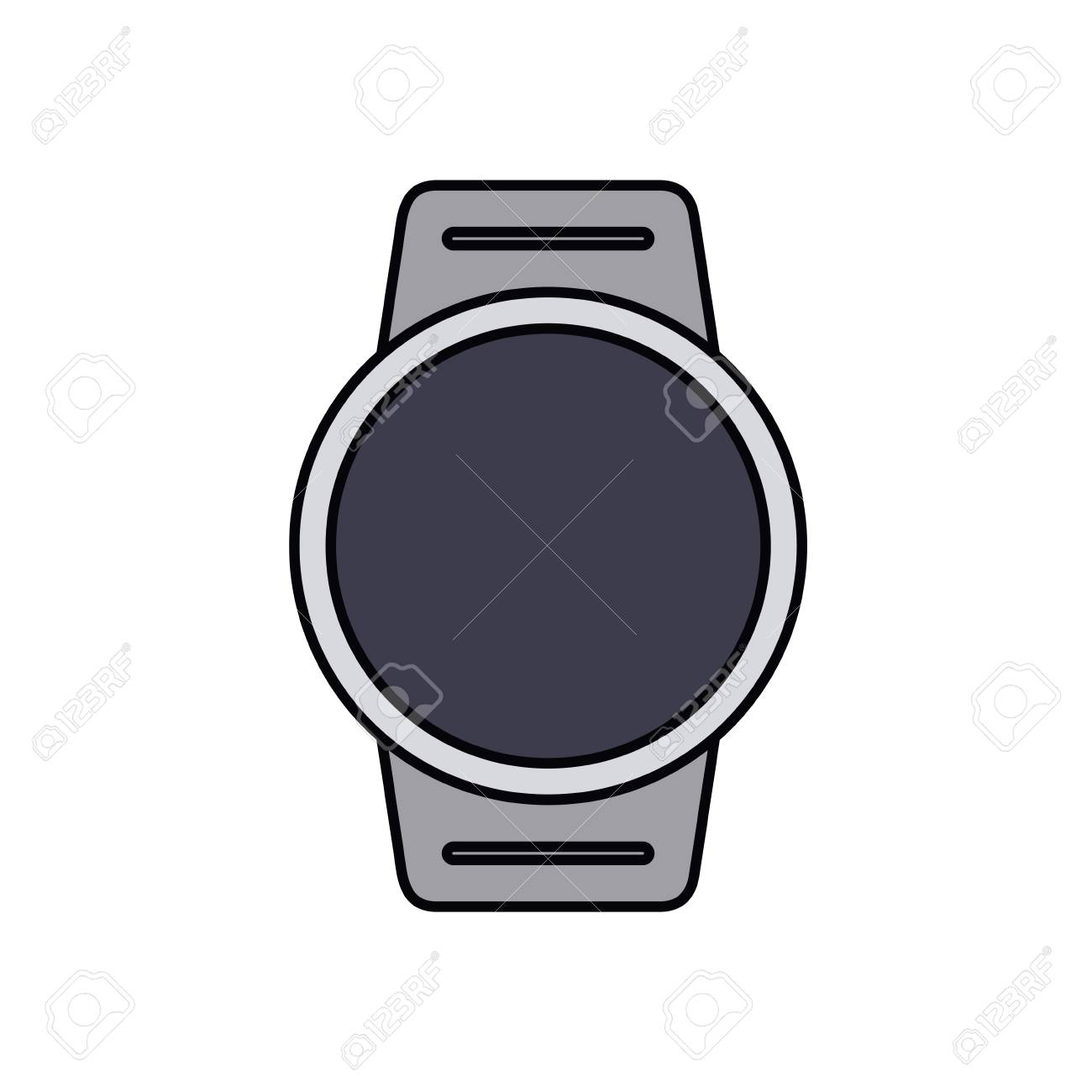 smartwatch isolated icon design vector illustration graphic royalty rh 123rf com vector watch update vector watch windows