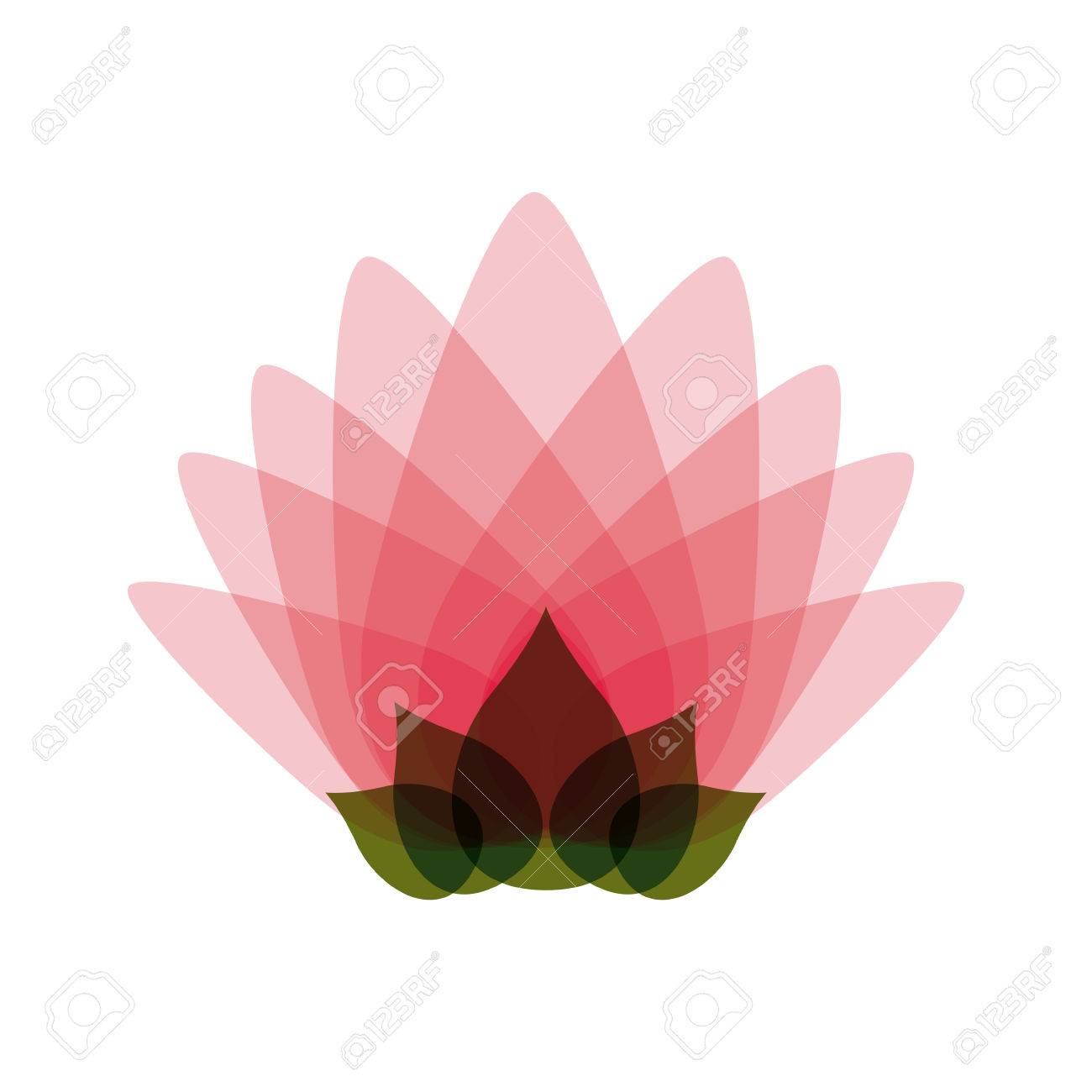 Pink lotus flower isolated icon design vector illustration pink lotus flower isolated icon design vector illustration graphic stock vector 60015496 mightylinksfo