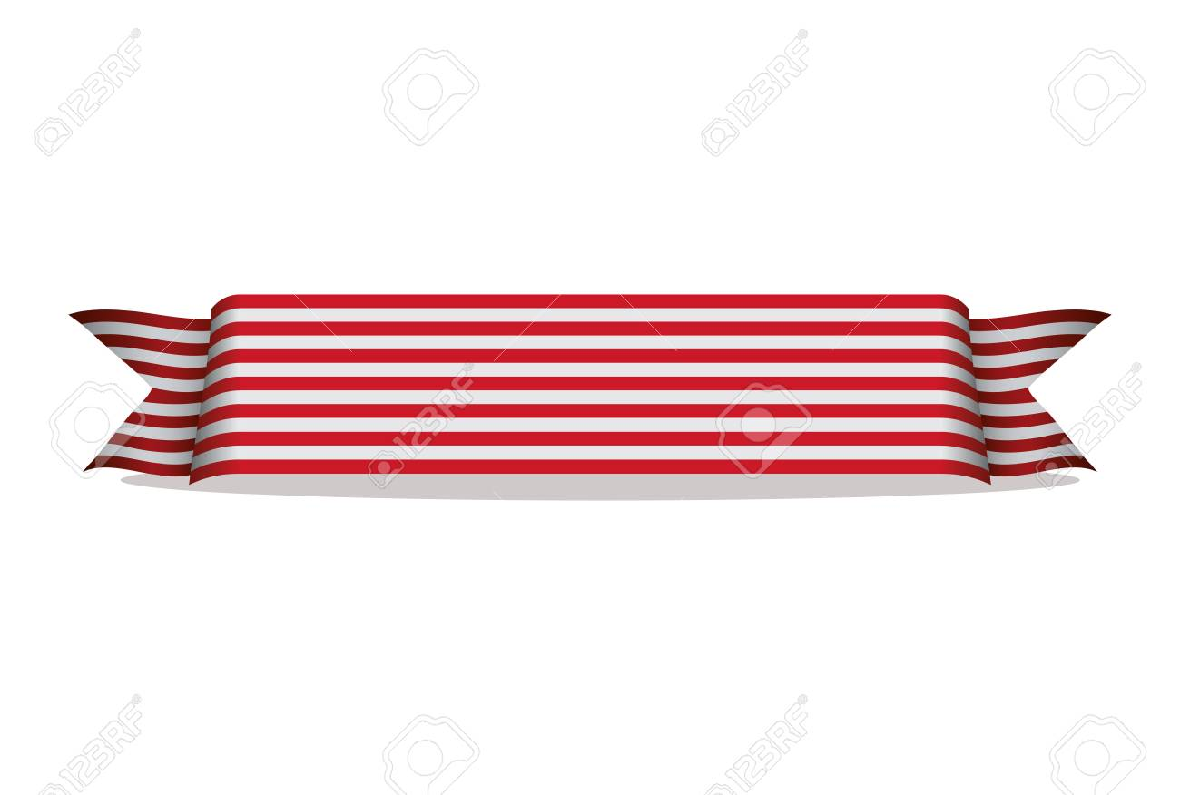 Red And White Stripes Cliparts, Stock Vector And Royalty Free Red And White  Stripes Illustrations