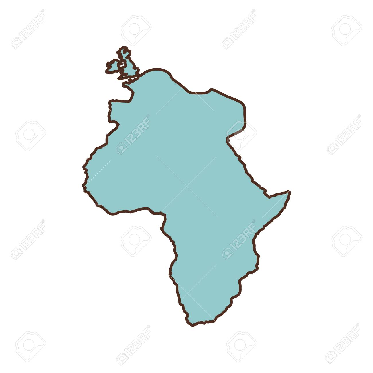 Africa continent icon world map design vector illustration royalty africa continent icon world map design vector illustration stock vector 65344794 gumiabroncs Image collections