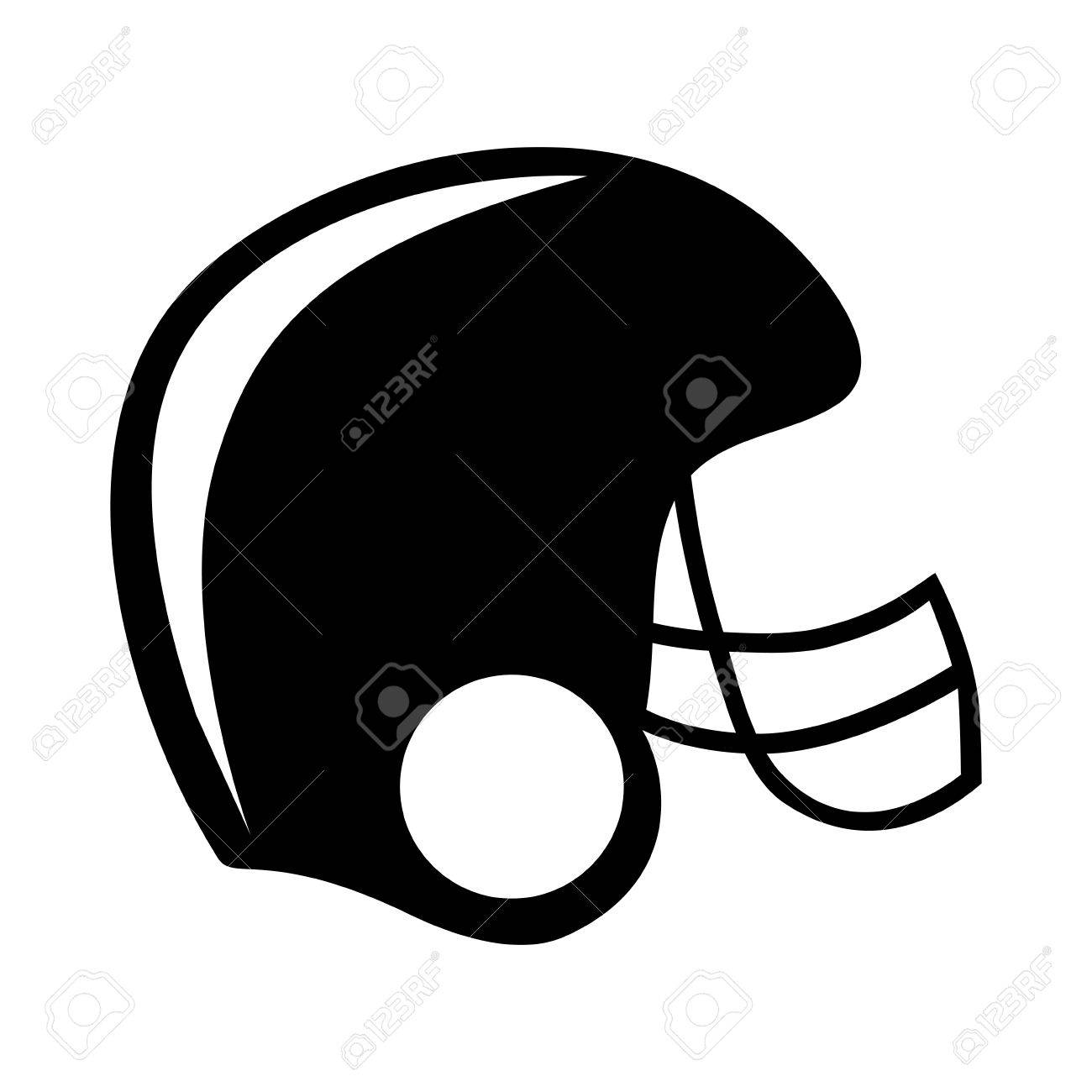 football helmet icon image vector illustration design royalty free rh 123rf com