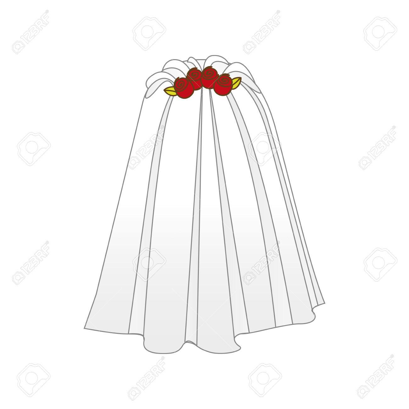 bride veil icon image vector illustration design - 66474096