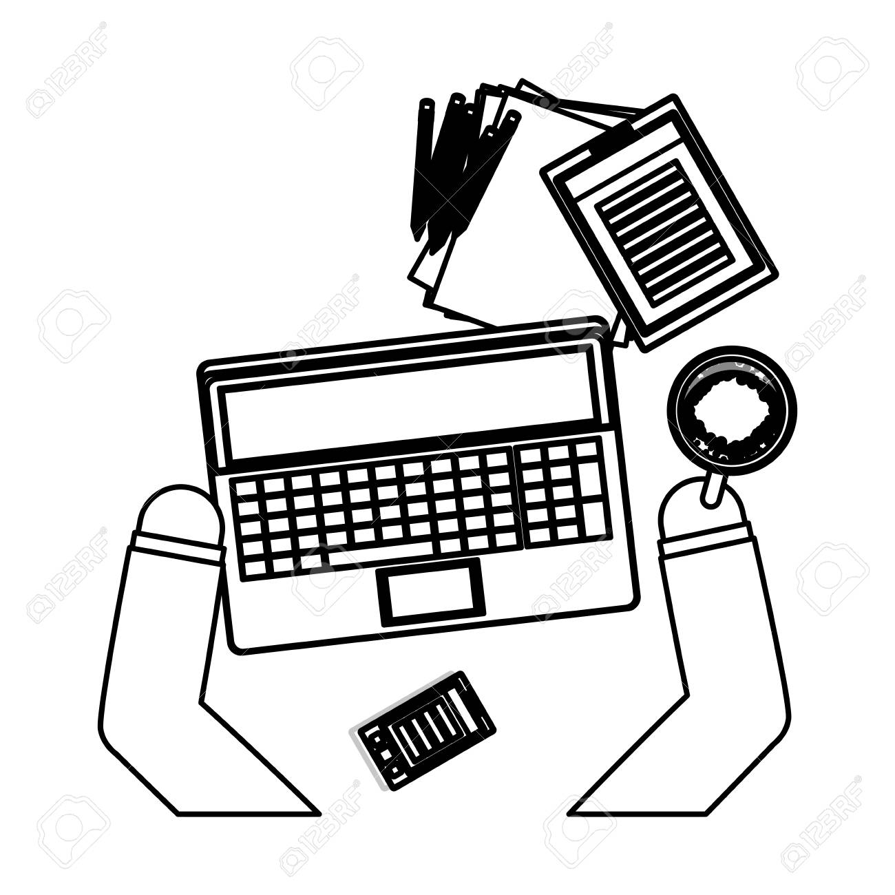 work and technology concept icon vector illustration graphic Network Equipment Icons vector work and technology concept icon vector illustration graphic design