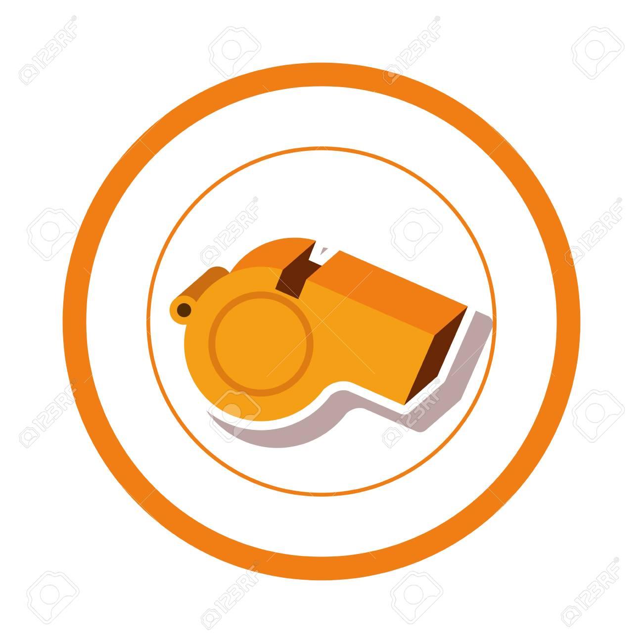 Sport whistle game icon vector illustration graphic design - 70684683
