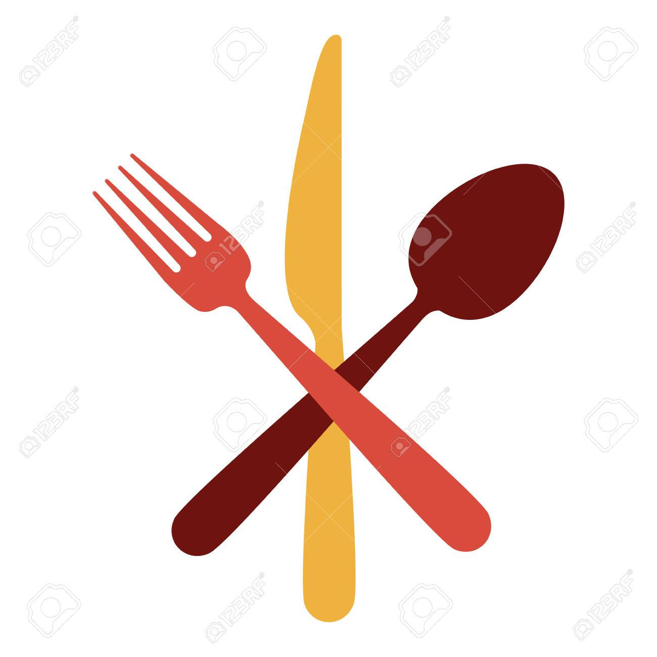 For restaurant pictures graphics illustrations clipart photos - Restaurant Cutlery Utensils Icon Vector Illustration Graphic Design Stock Vector 70888015