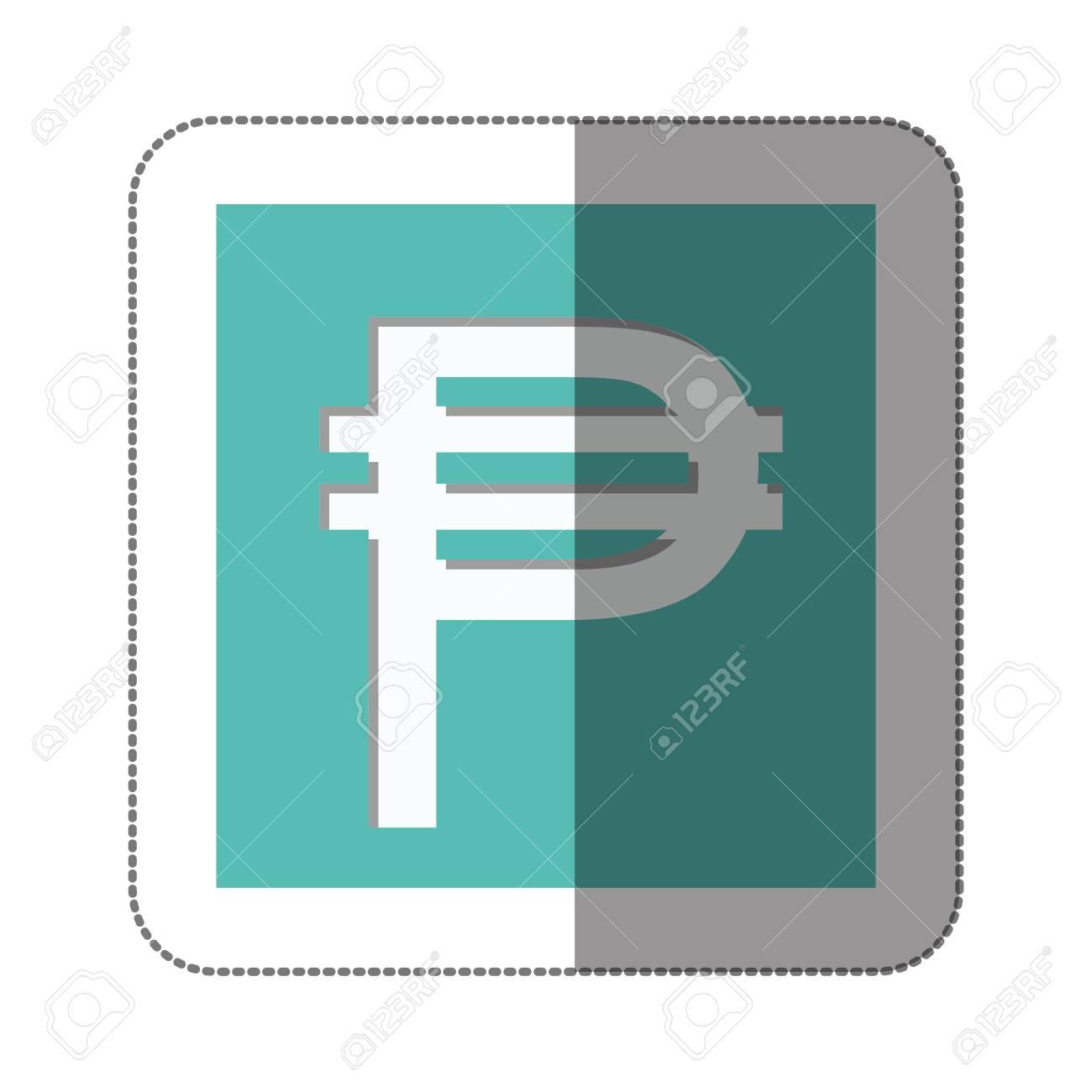 Pesos Currency Symbol Icon Image Vector Illustration Royalty Free