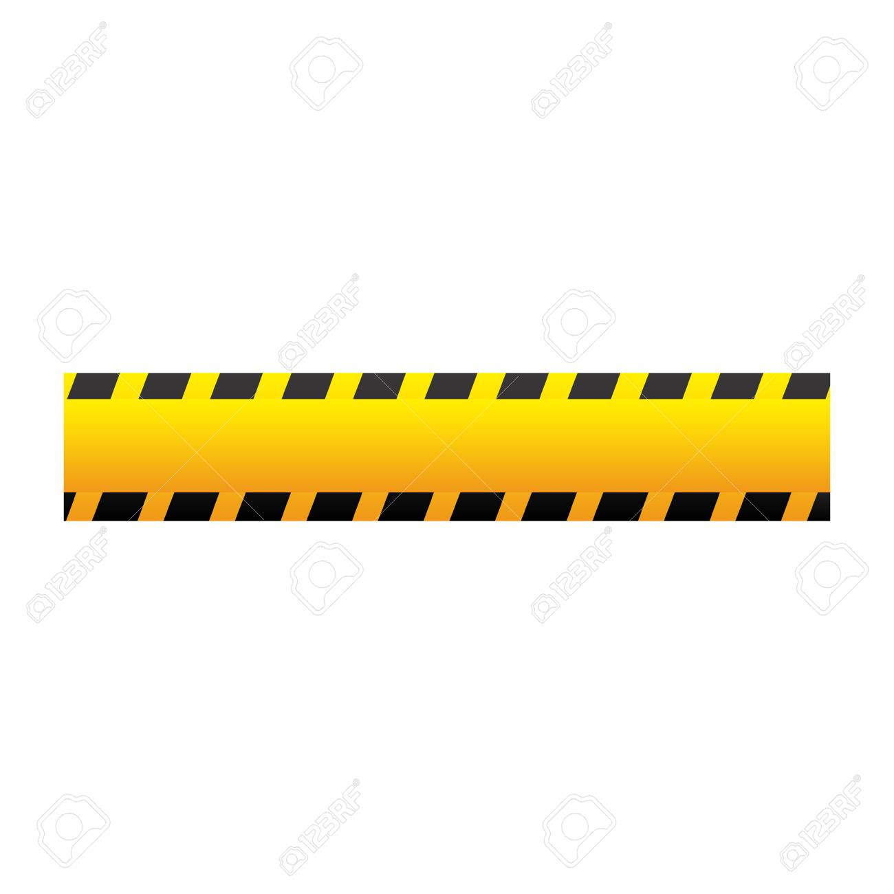 yellow caution tape icon vector illustraction design image royalty rh 123rf com caution tape vector free