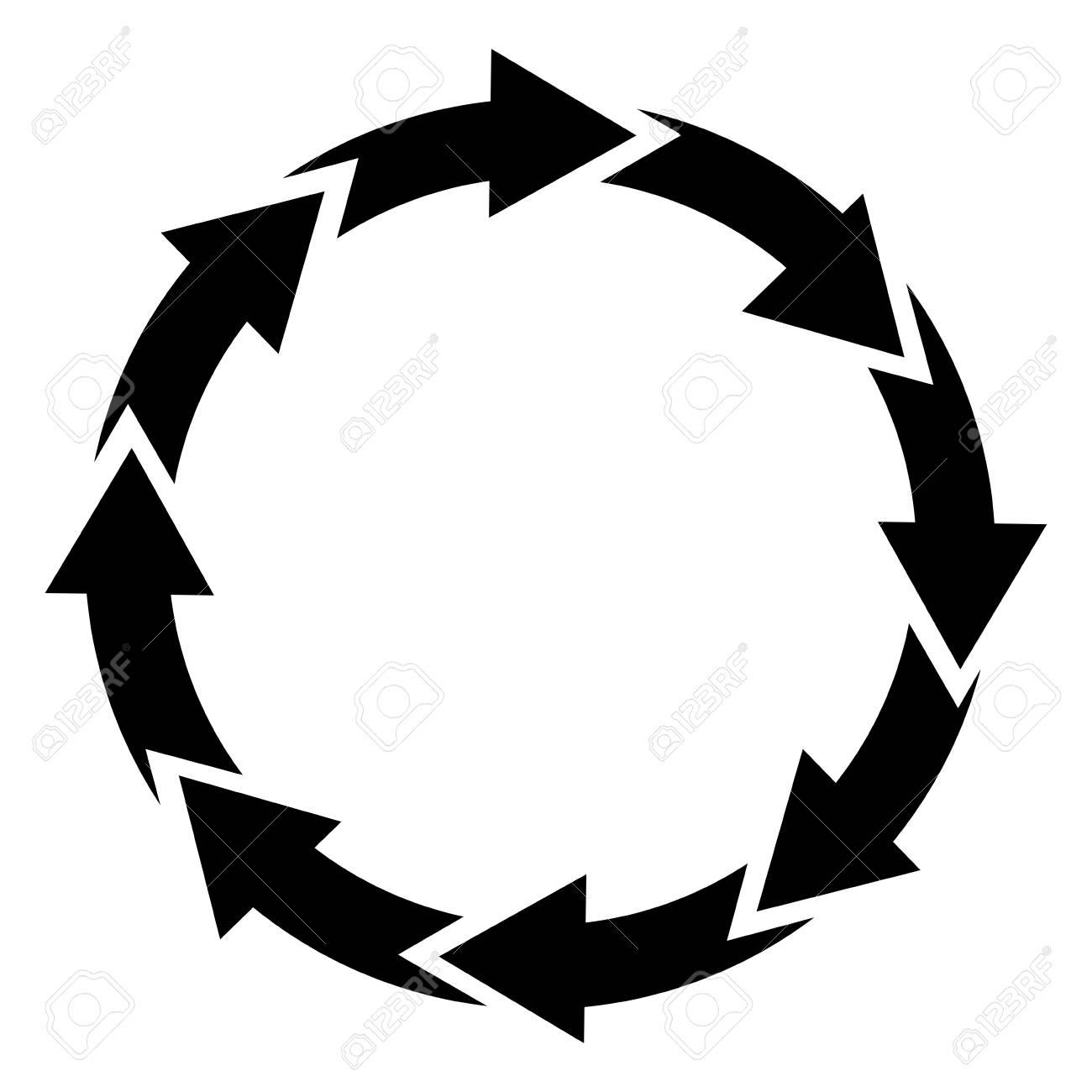 Contour sticker cycle icon vector stock vector 73371503