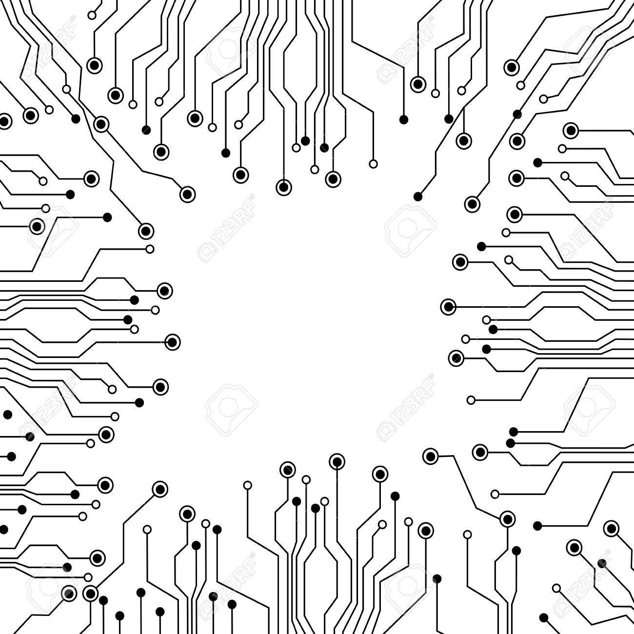 Figure Electrical Circuits Icon, Vector Illustraction Design Royalty ...
