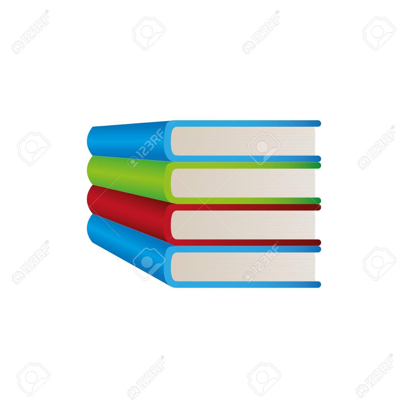 Icone D Etude De Livre Couleur Image De Dessin Vectoriel Illustraction
