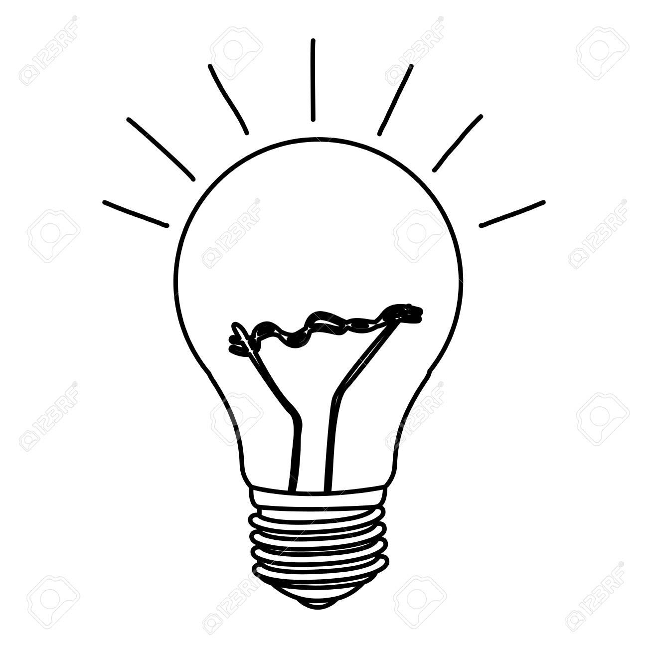 Niedlich Elektrisches Symbol Für Glühbirne Zeitgenössisch - Die ...