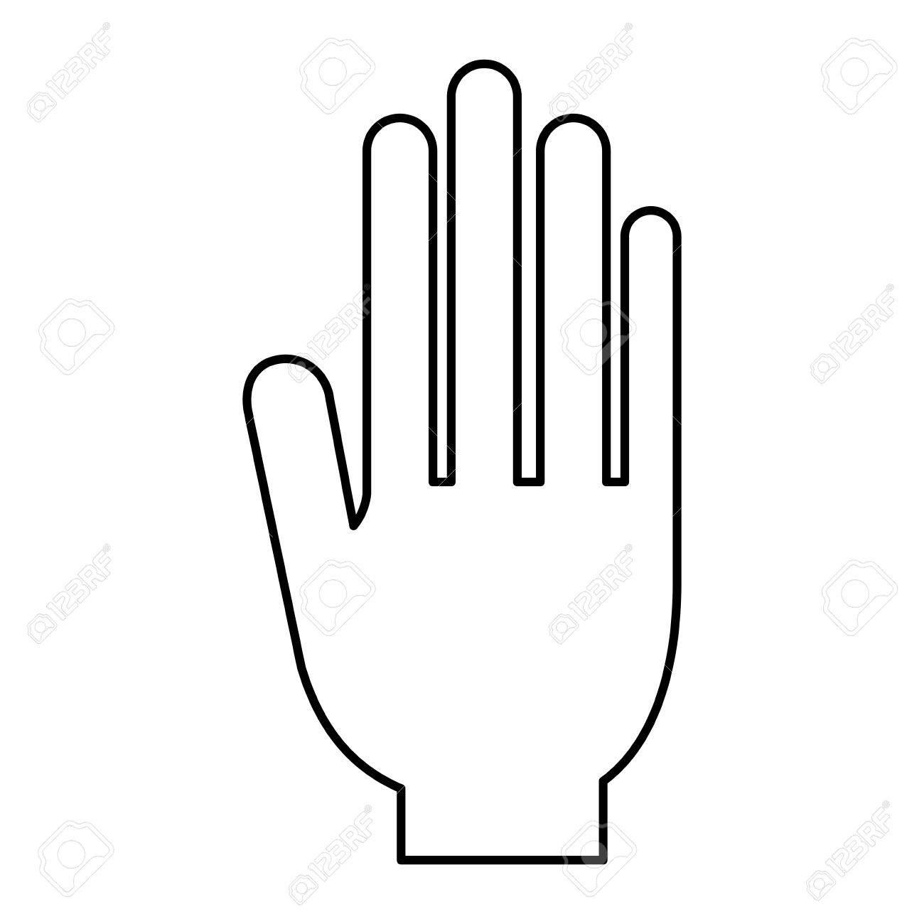 Hand-Symbol. Abstimmung Präsidenten Wahl Regierung Und Kampagne ...