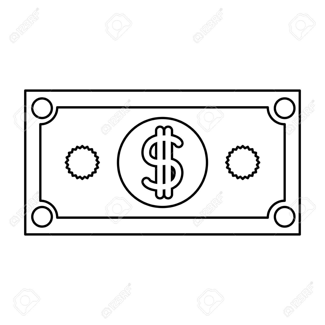 Dollar Bill Template Vector - Clipart &vector Labs :) •
