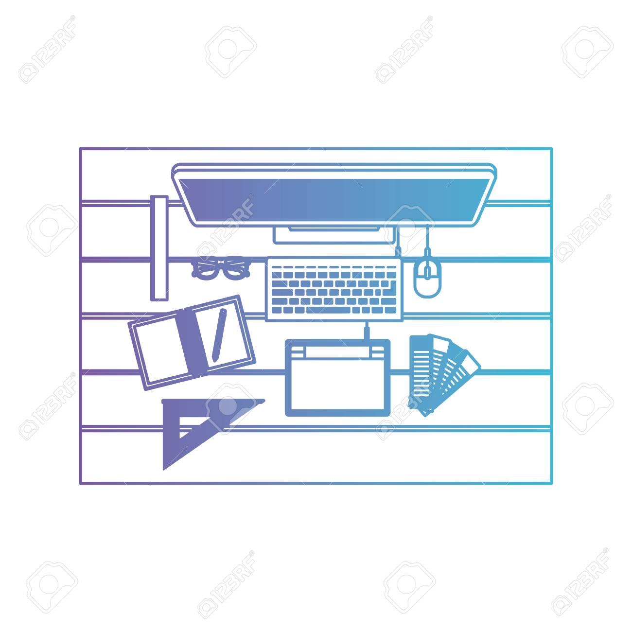 Desktop Computer Draw Tool Desk Ruler Tablet Digitizer Office