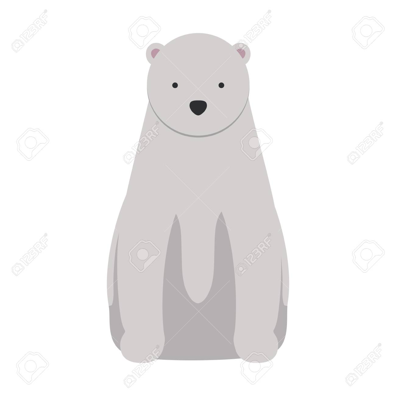 wild polar bear icon vector illustration design royalty free cliparts vectors and stock illustration image 101000098 wild polar bear icon vector illustration design