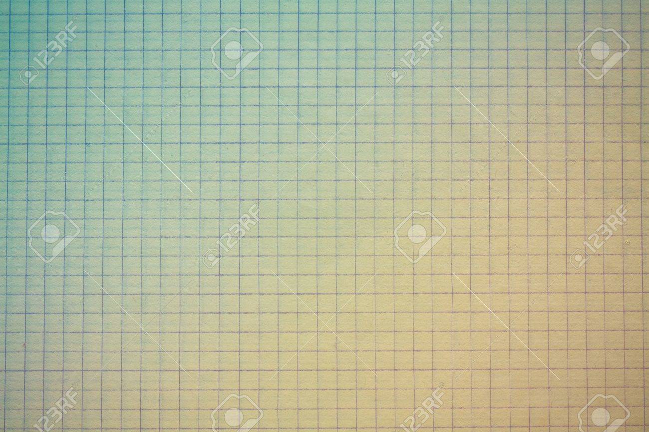 drafting paper or graph paper with blue and yellow gradients stock