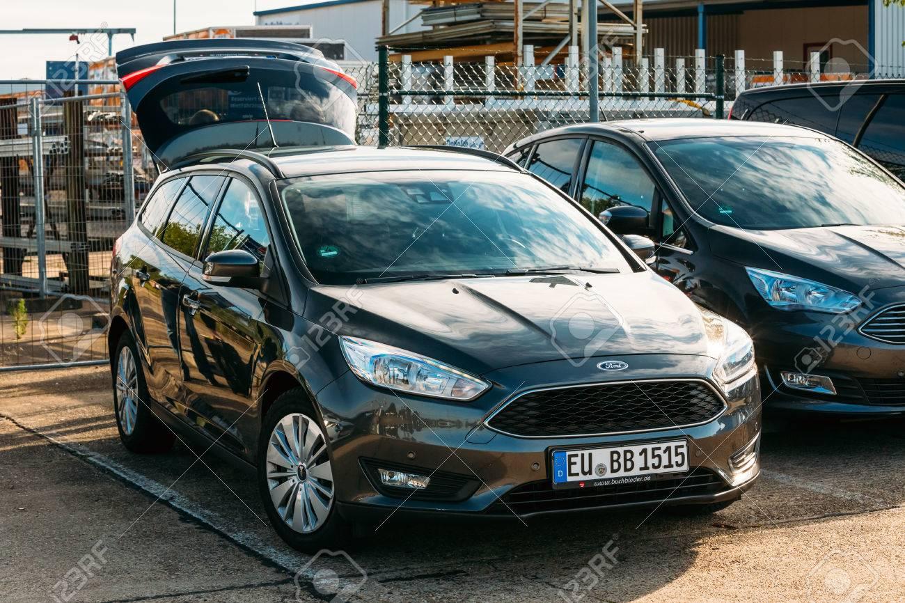 Frankfurt Hahn Germany June 16 2016 The Ford Focus Car