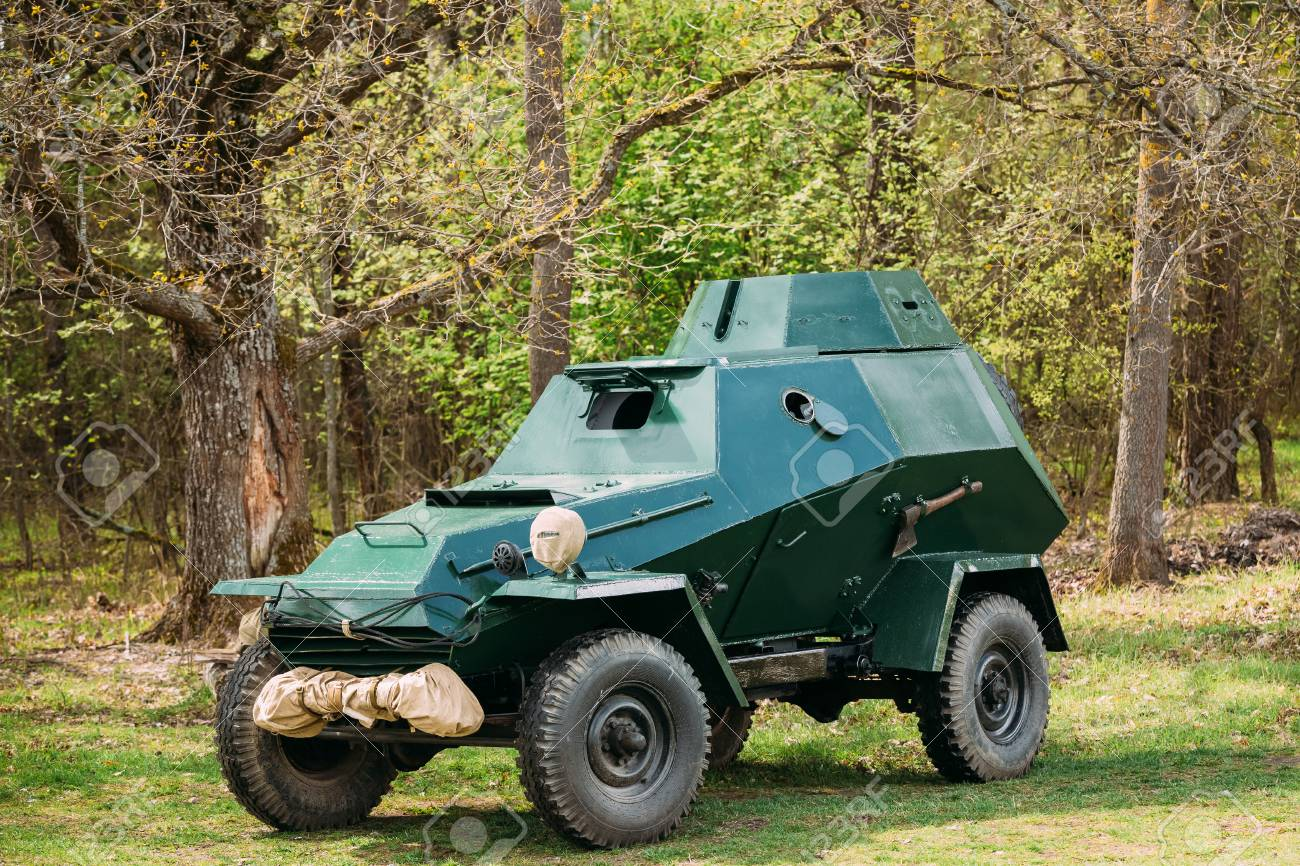 Russian Armoured Soviet Car Ba 64 Of World War Ii In Forest Stock Photo Picture And Royalty Free Image Image 73582148