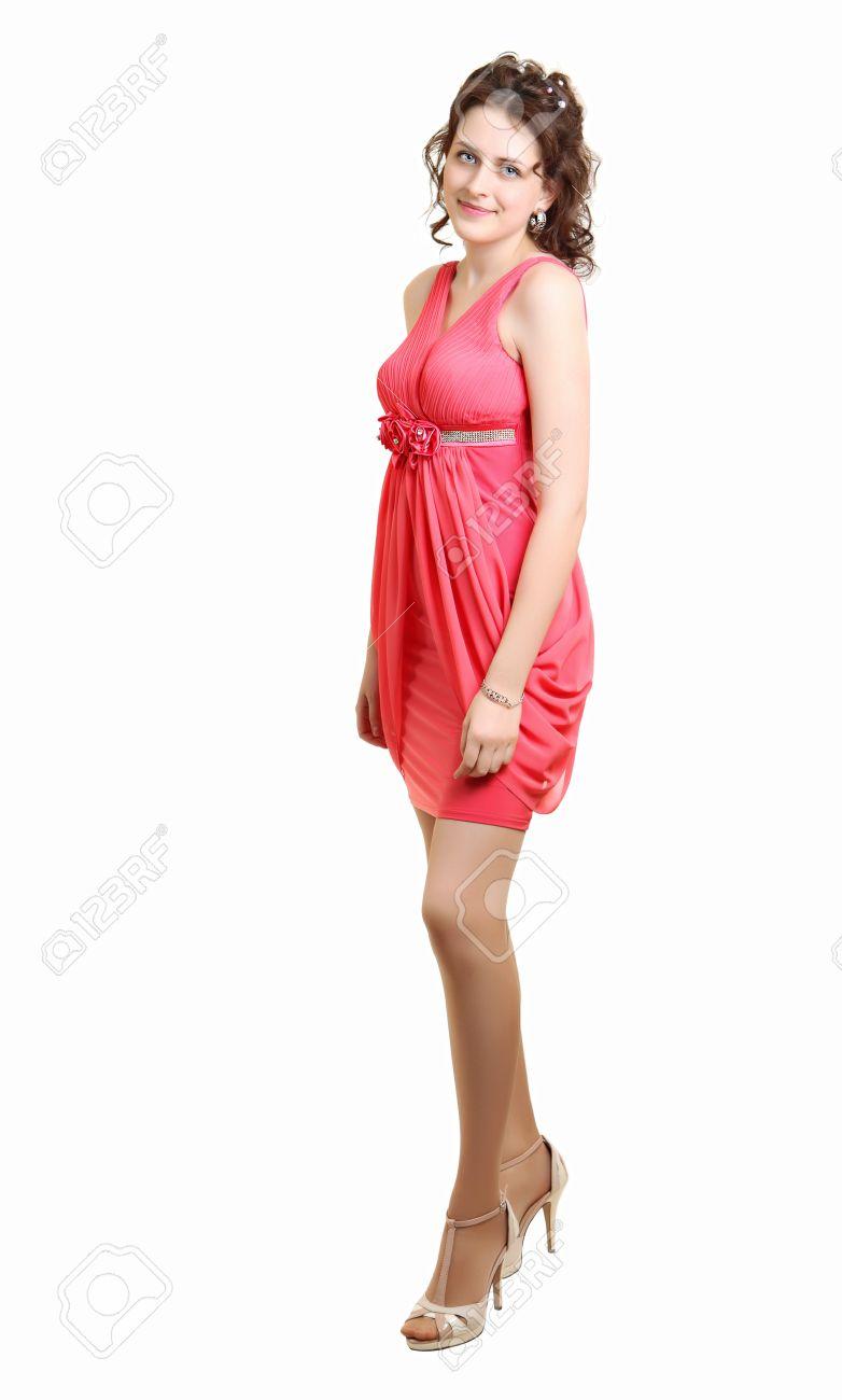 Vestidos color coral para graduacion de secundaria