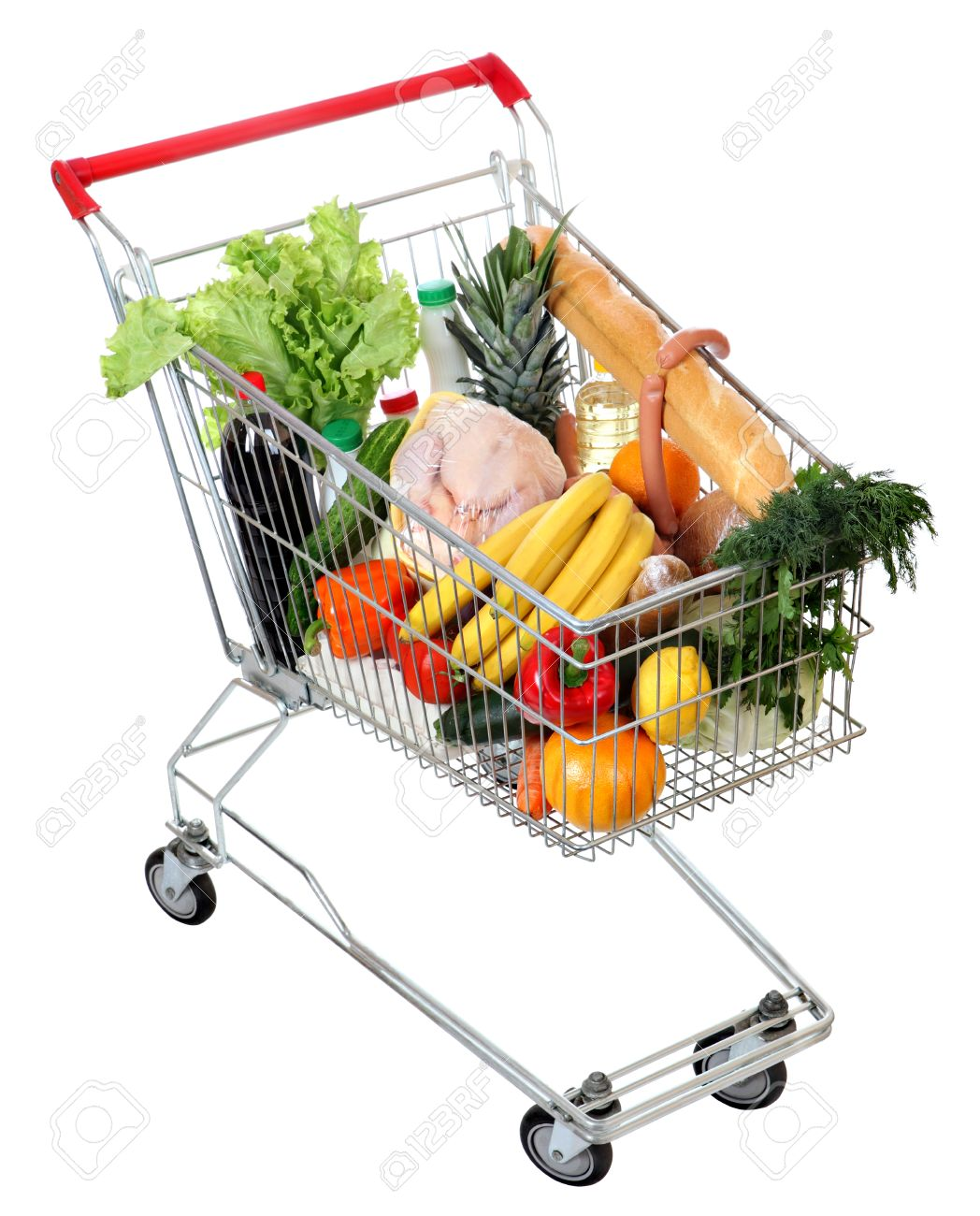 Resultado de imagen de carro lleno de comida