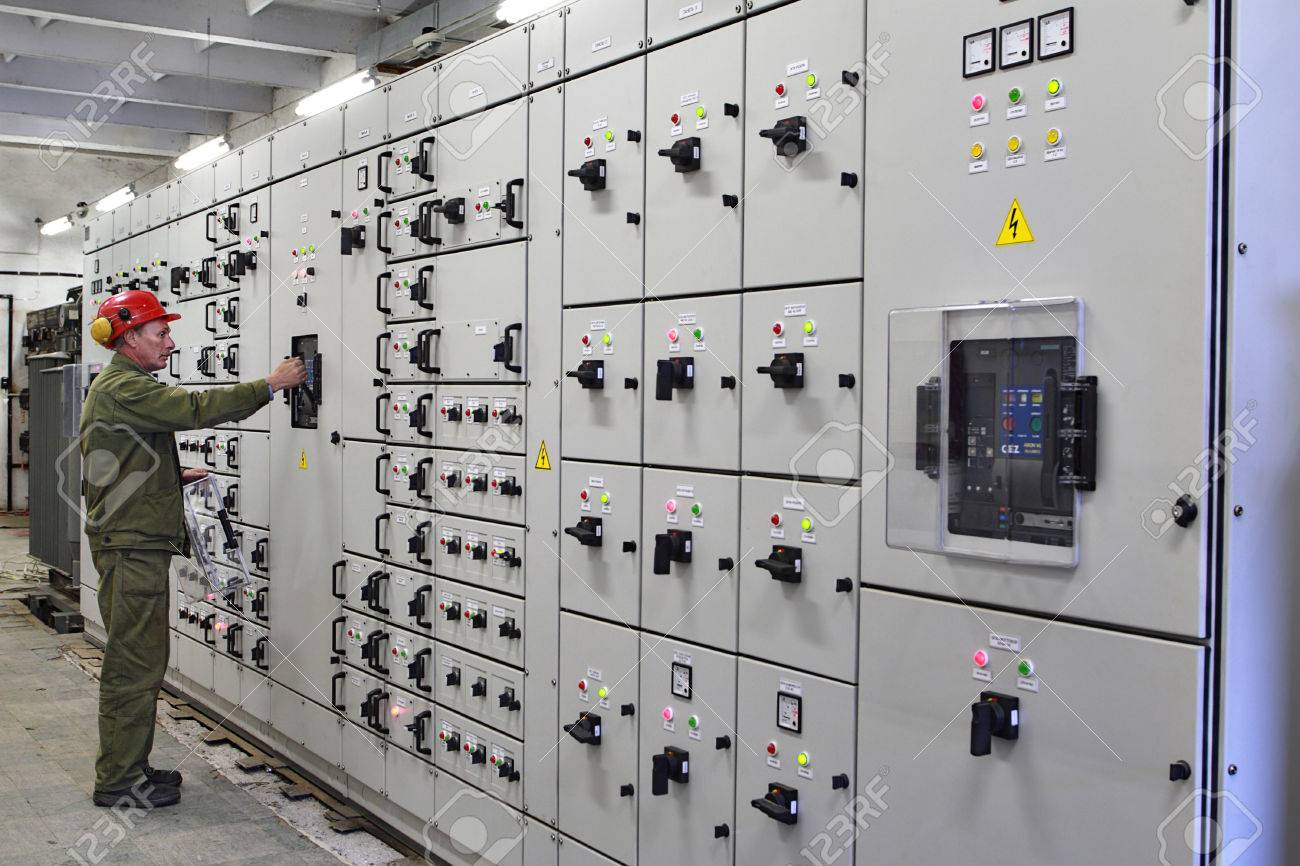 Electrical Switch Room Stock Photos & Pictures. Royalty Free ...